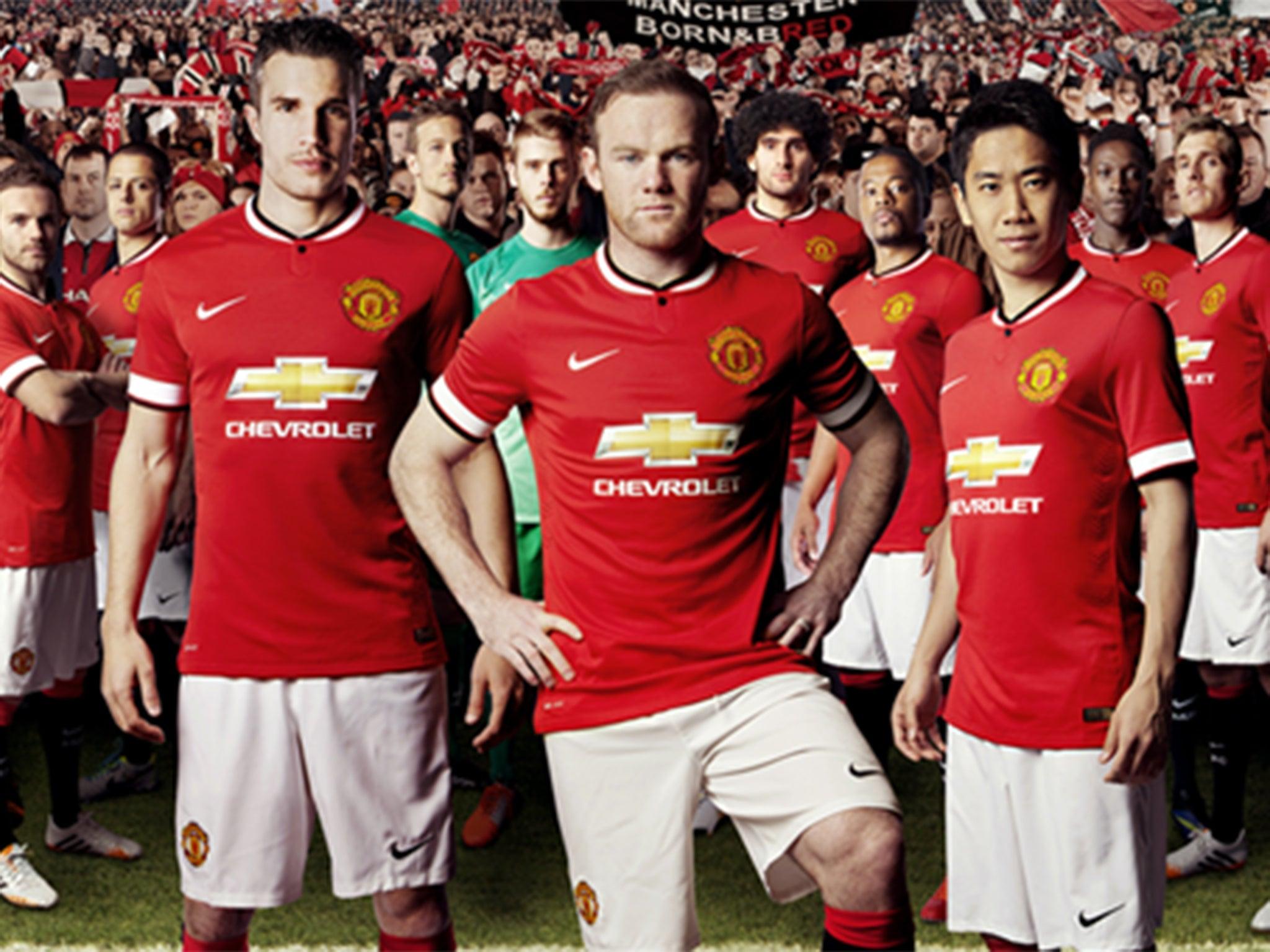 Manchester united for Manchester united shirt sponsor