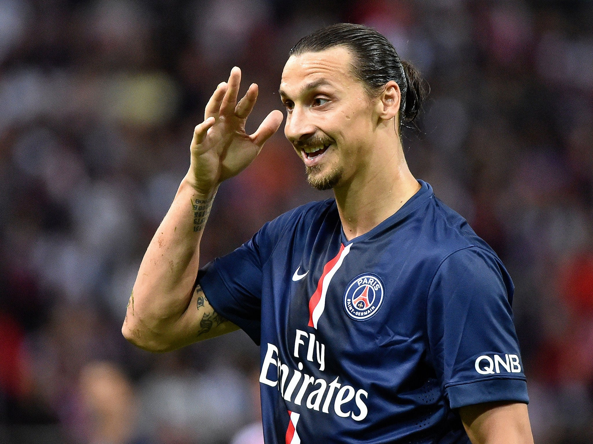 Zlatan Ibrahimovic donates £30,000 to send Swedish ... Zlatan Ibrahimovic 2014