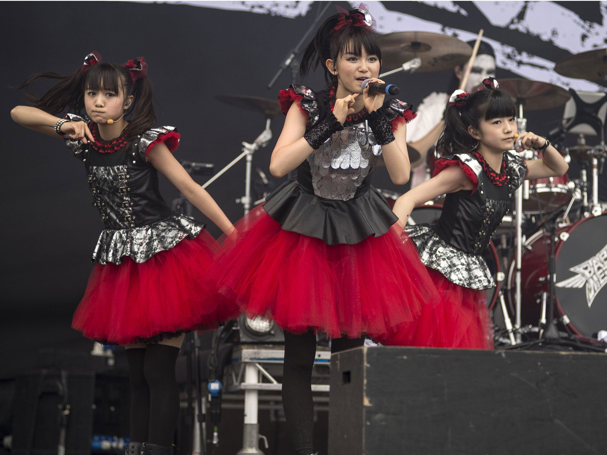 babymetal Babymetal announce UK date as part of their World Tour 2014 | News | Culture | The Independent