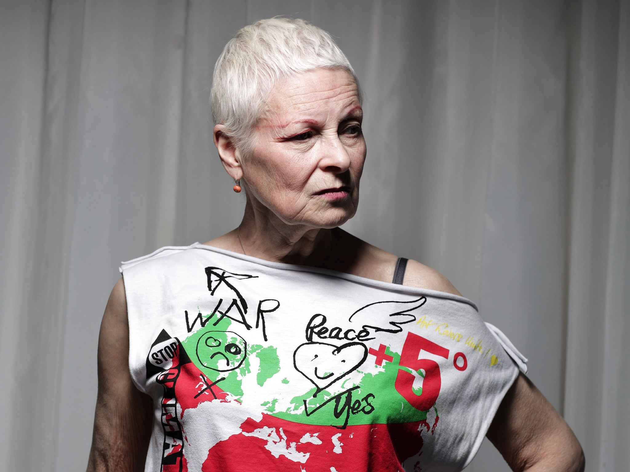 vivienne westwood accused of plagiarism over book on her life news culture the independent. Black Bedroom Furniture Sets. Home Design Ideas