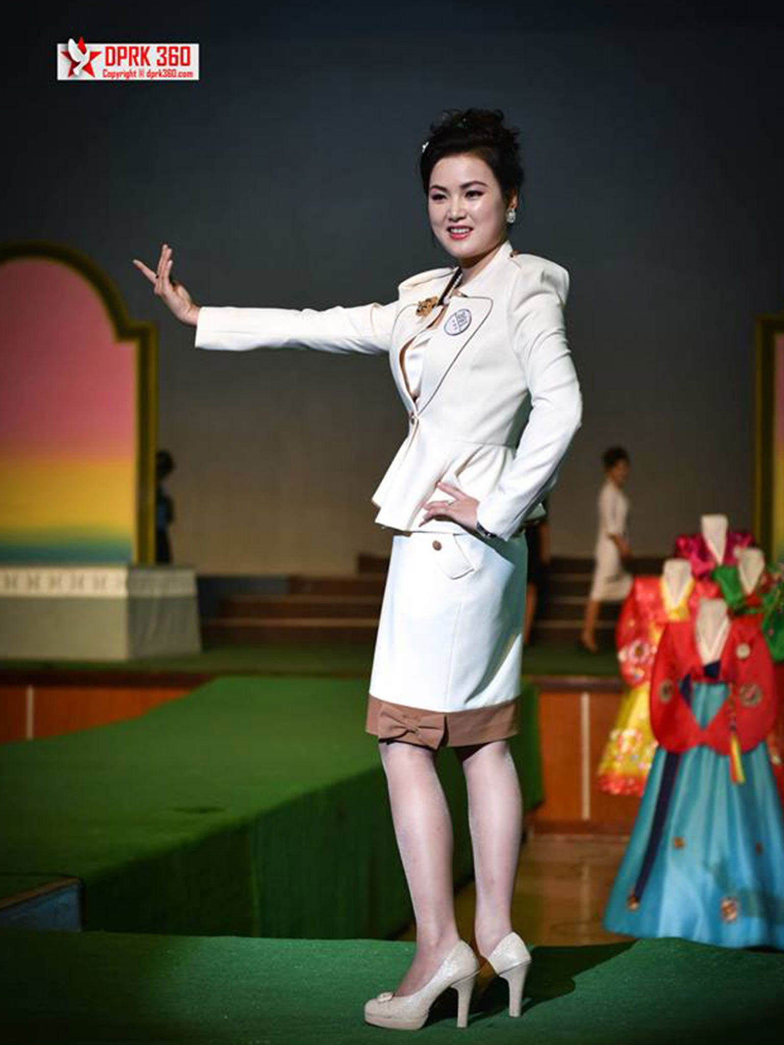 North Korea Inside Pyongyang 39 S Annual Fashion Show Asia
