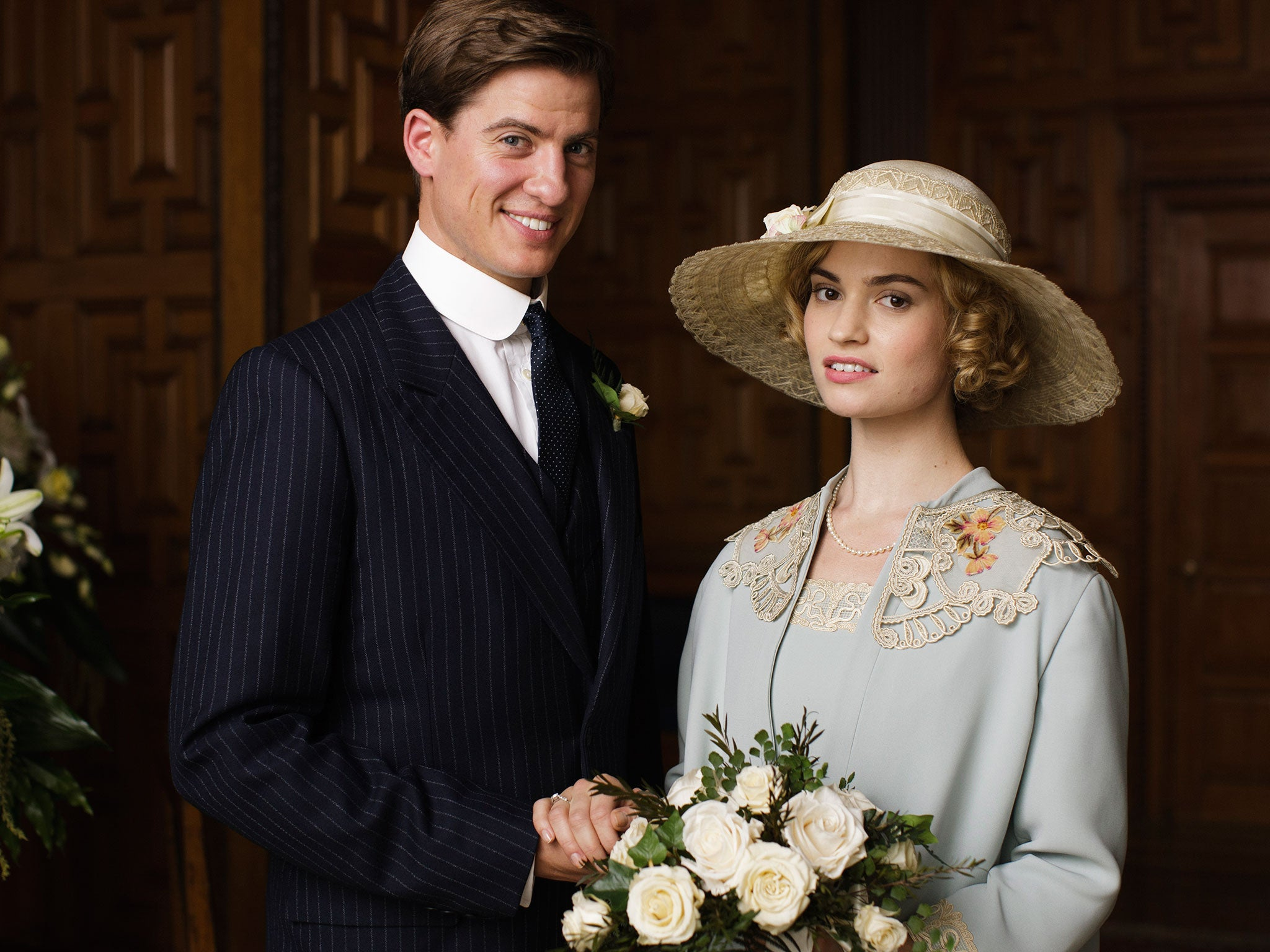 downton abbey season 5 finale review even lady rose and