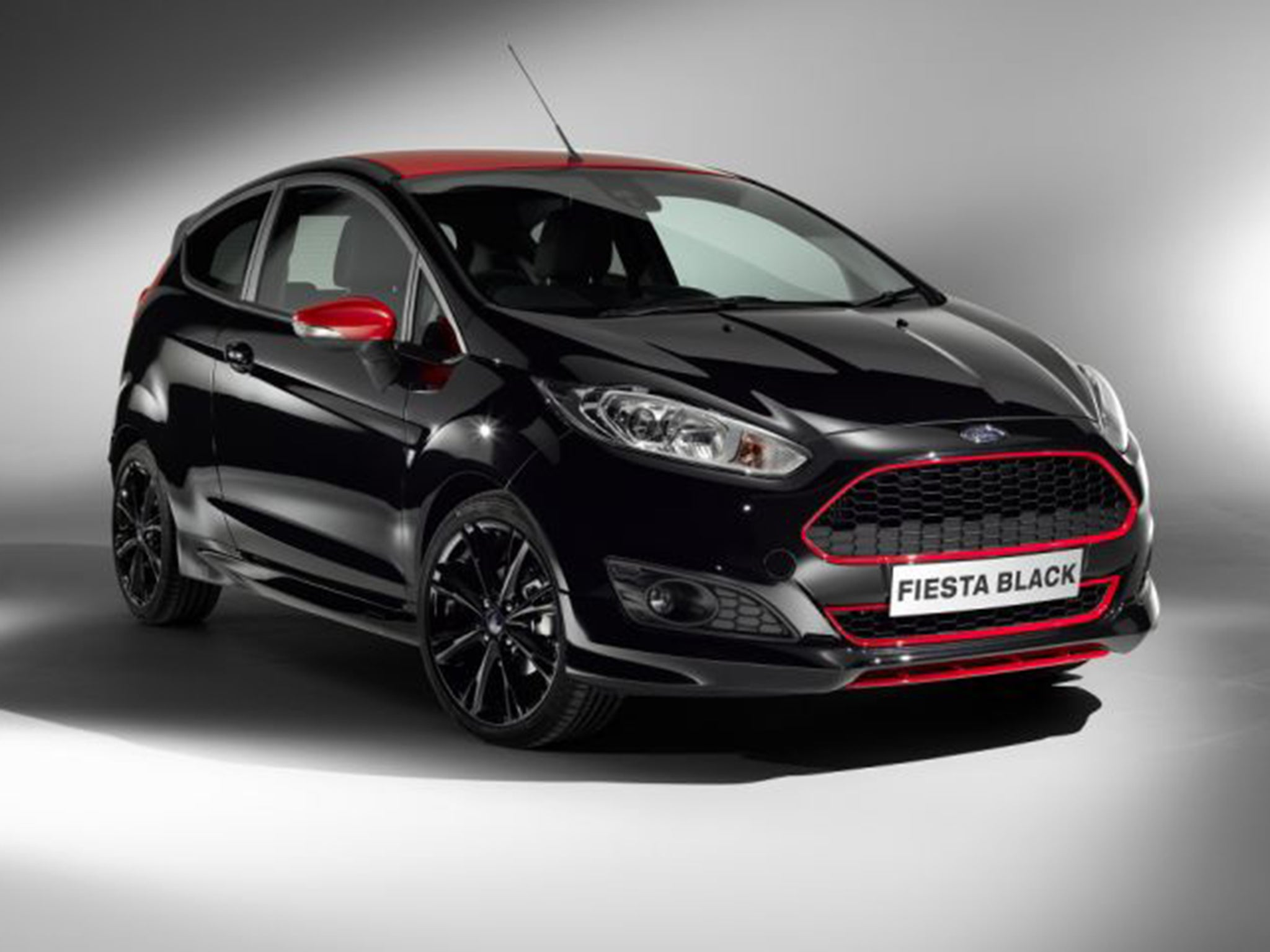 ford fiesta black edition motoring review available in any colour you like as long as it 39 s. Black Bedroom Furniture Sets. Home Design Ideas