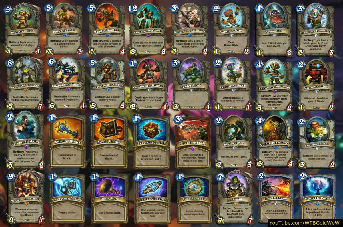 How To Craft Old Cards For Wild In Hearthstone