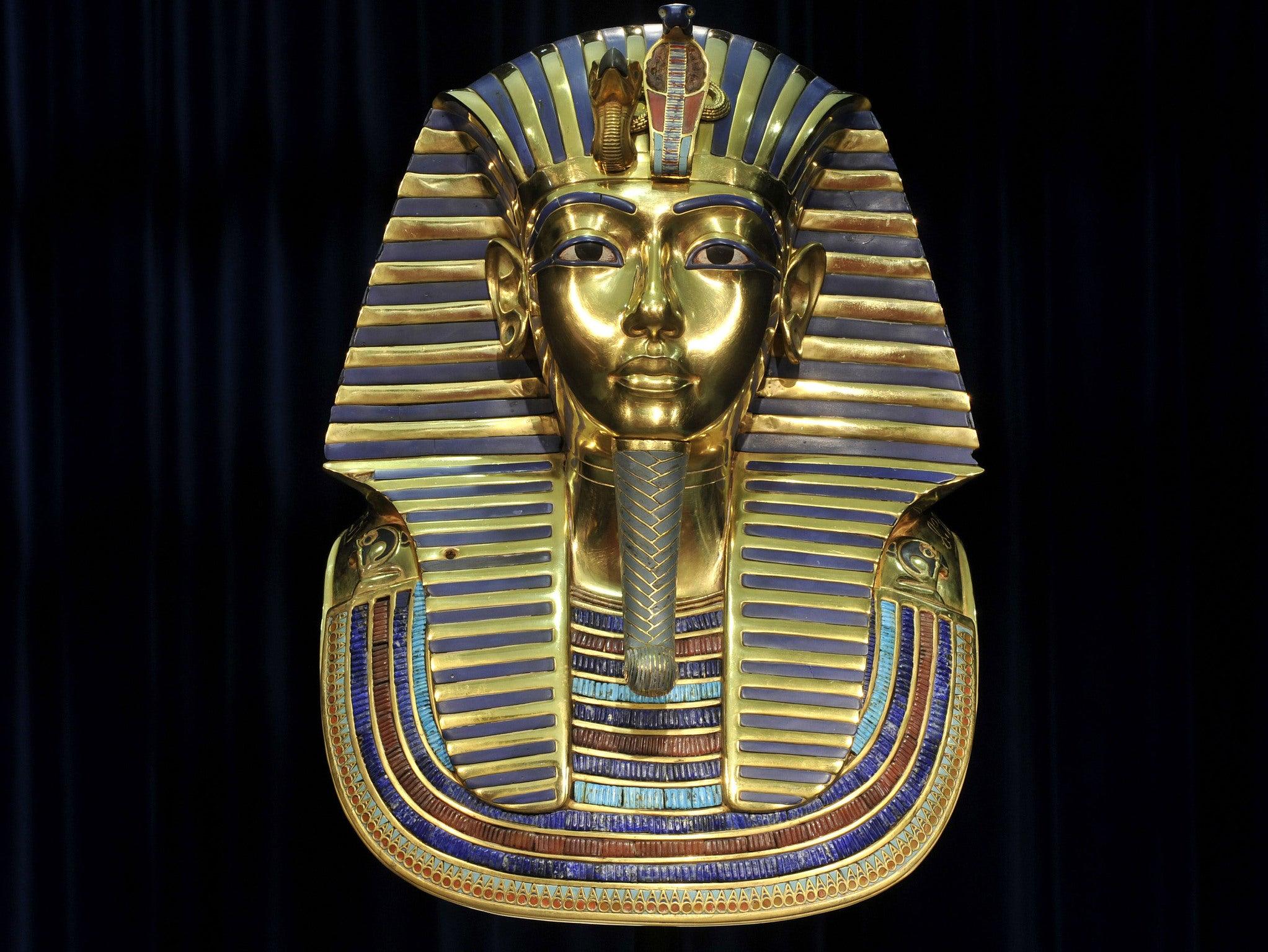 1,323 BC / Gold Mask of Tutankhamun