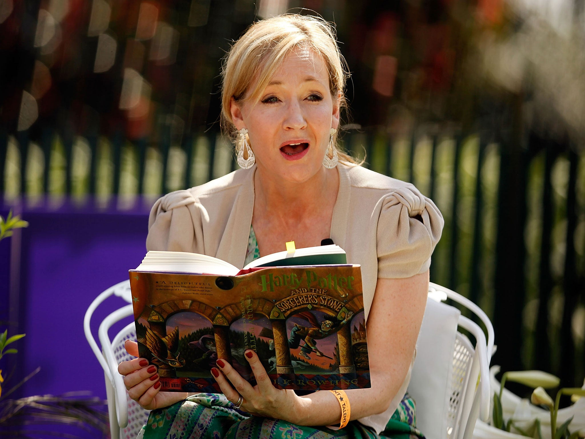 J k rowling and her tips on how to write a book