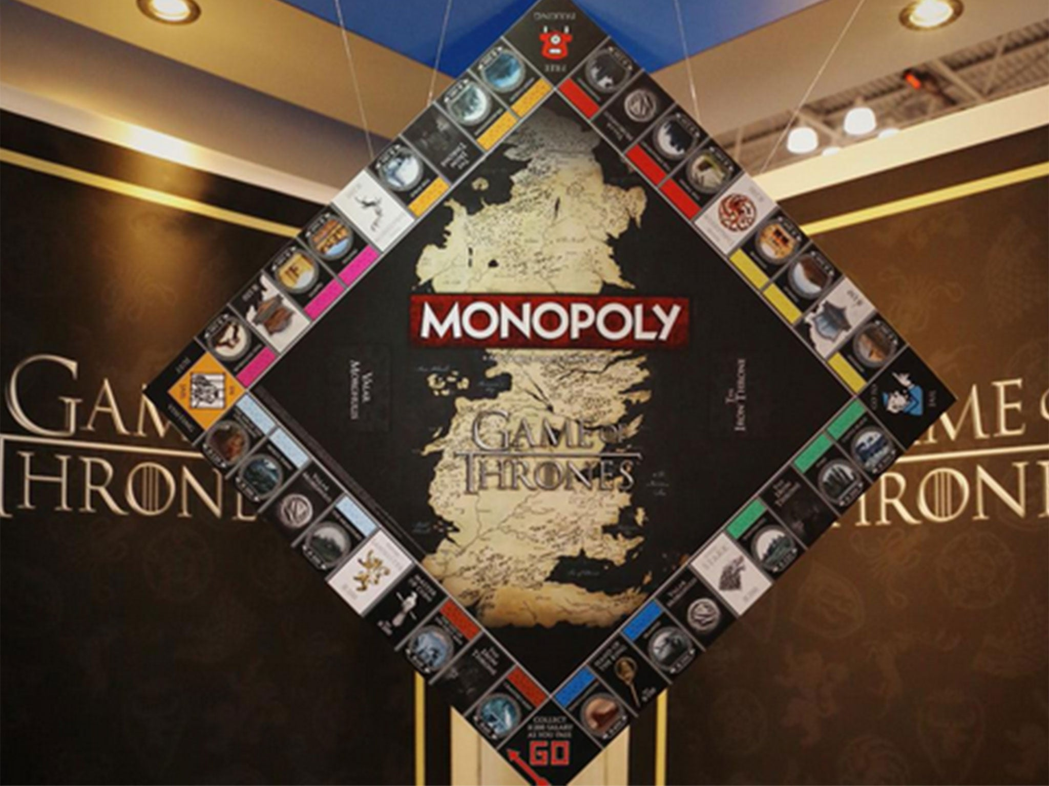 game of thrones is getting a monopoly edition news. Black Bedroom Furniture Sets. Home Design Ideas
