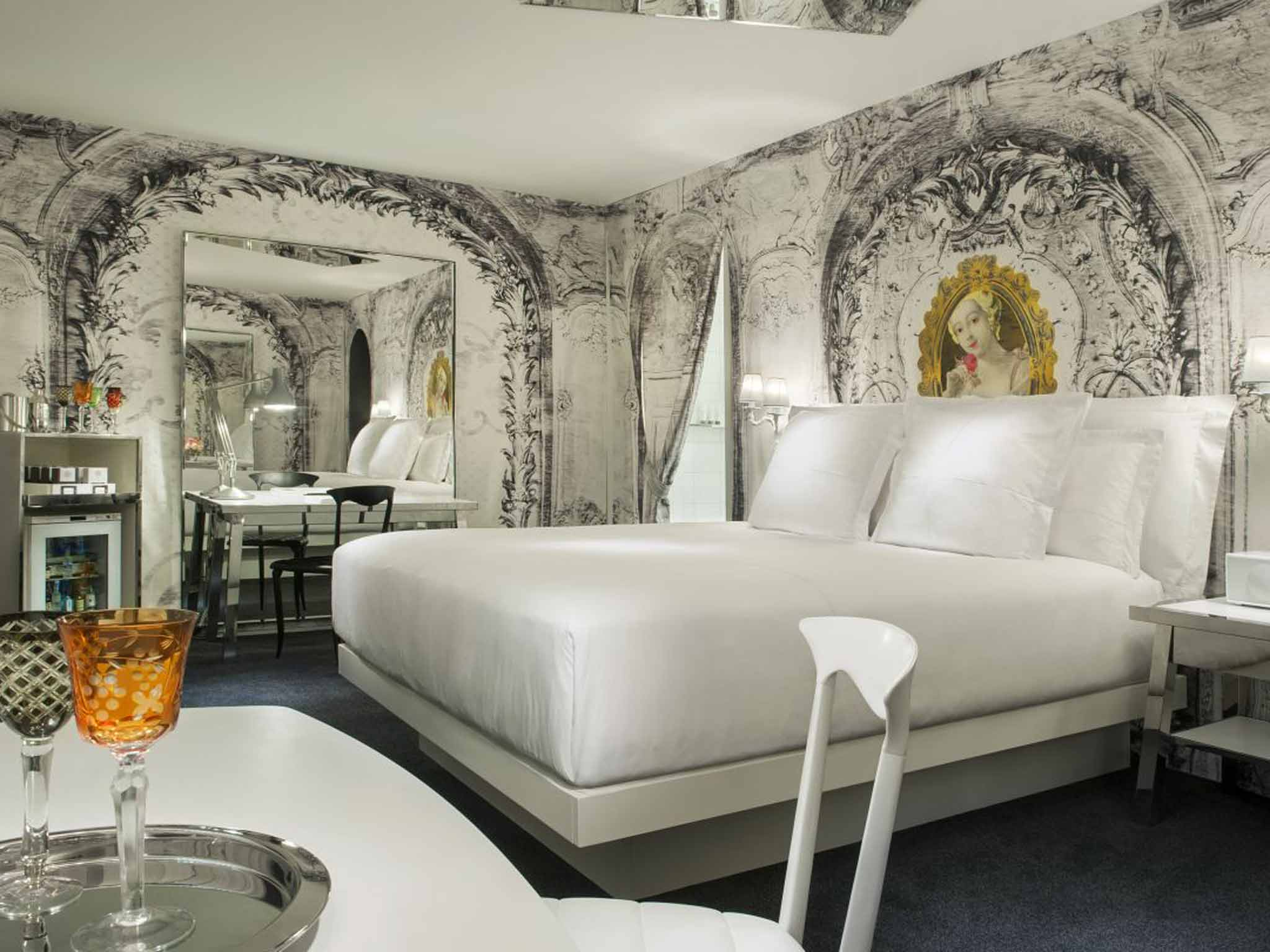 SLS Las Vegas: Starck bedrooms in the badlands of the Strip | Hotels | Travel | The Independent