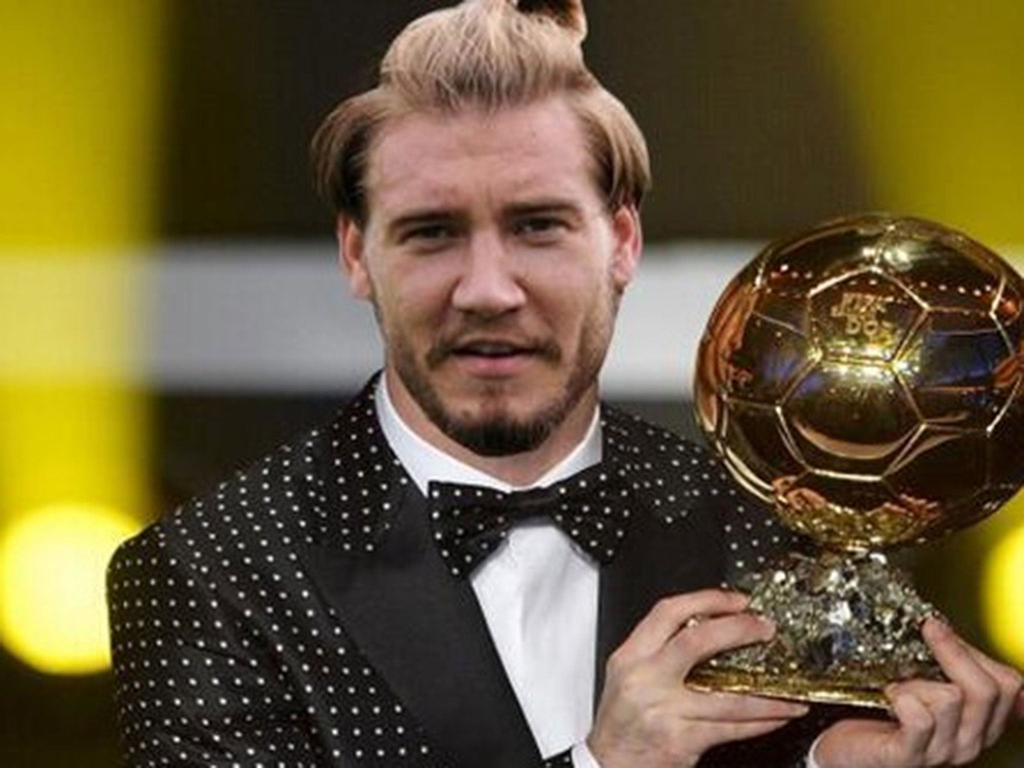 ... Bendtner scores hat-trick for Denmark: the best memes and reaction