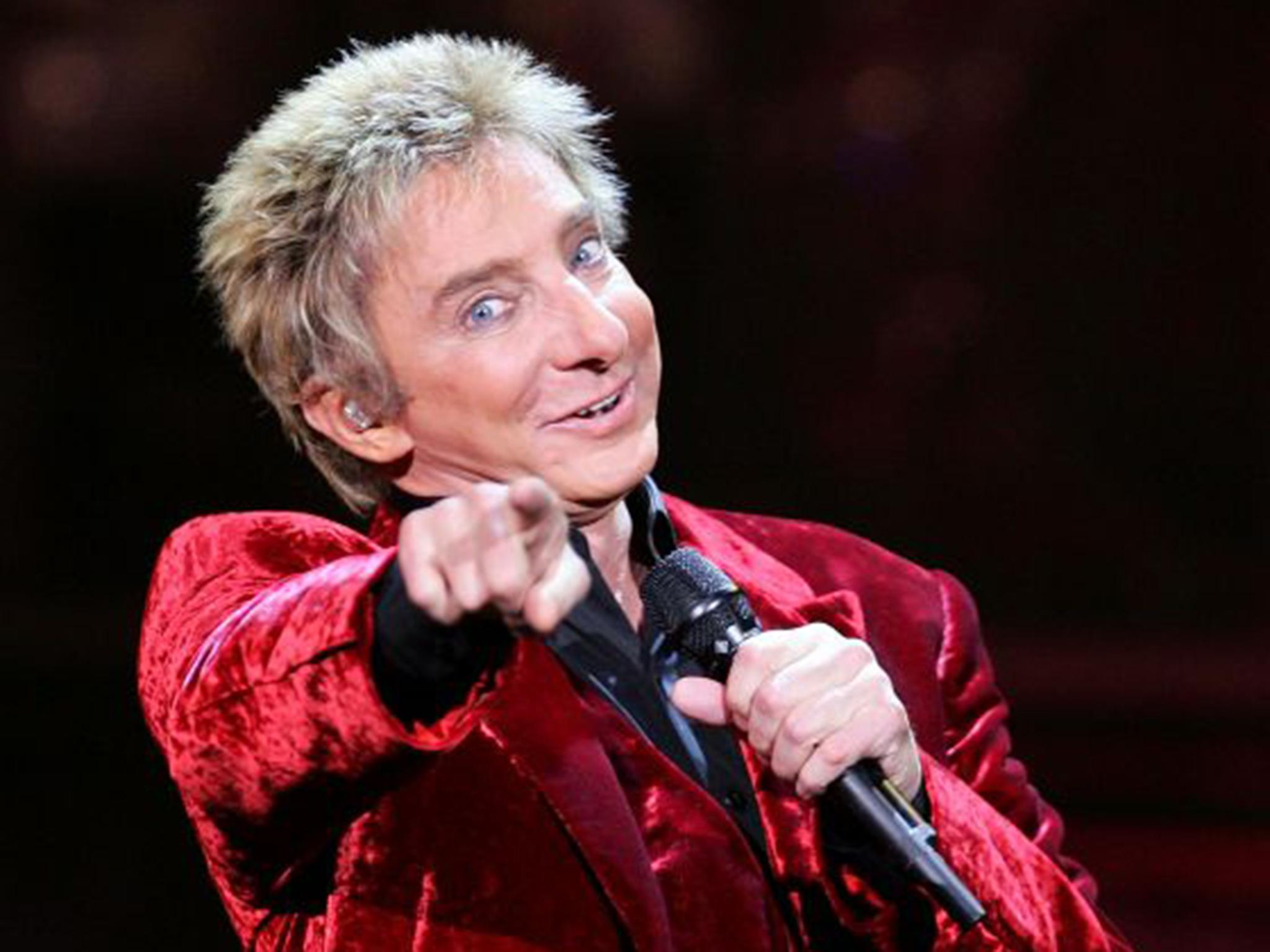 barry manilow out of surgery and doing well but ordered not to talk