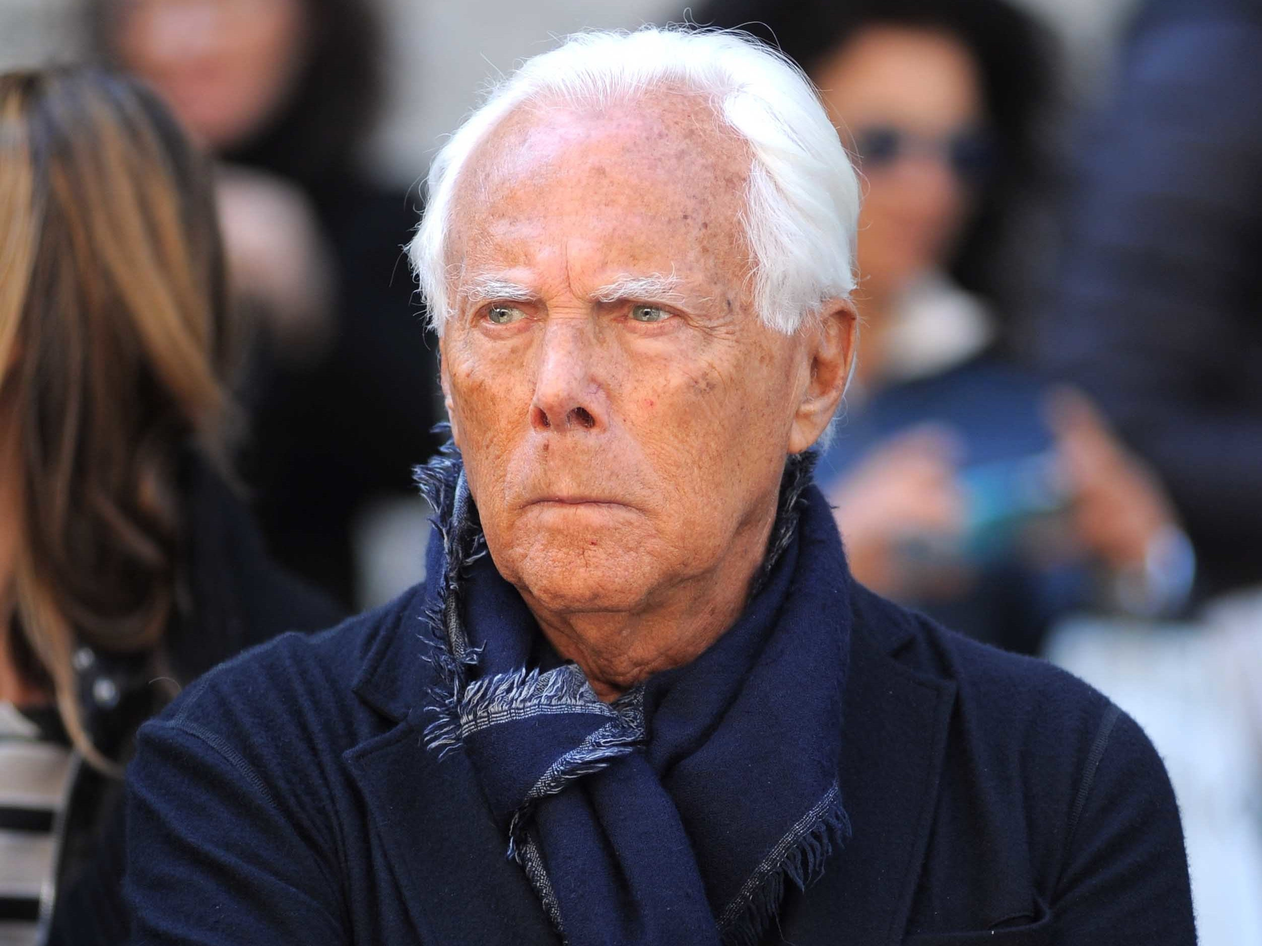 Giorgio Armani criticises the way some gay men dress saying 'a man has ... Giorgio Armani
