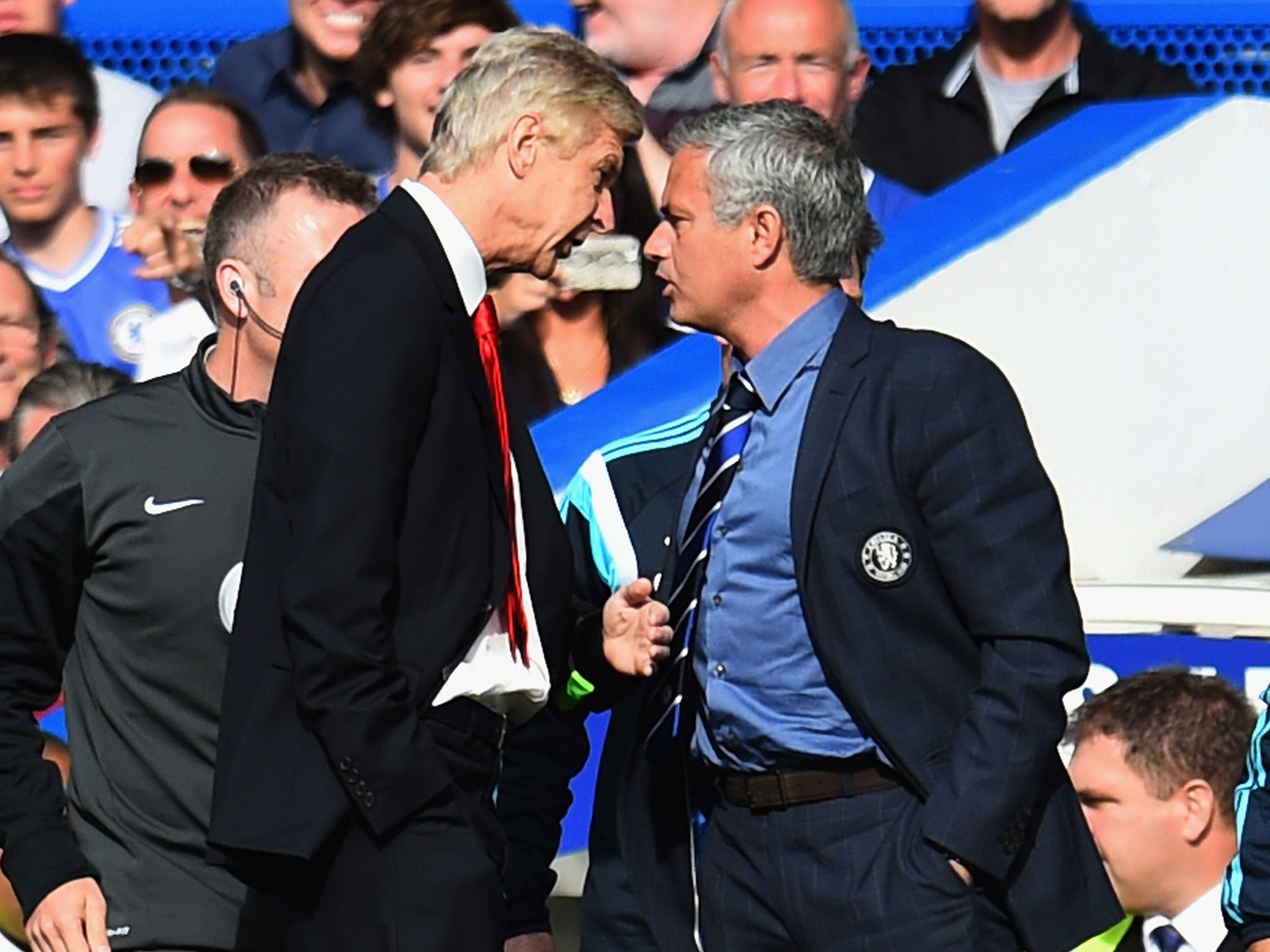 Image result for wenger mourinho