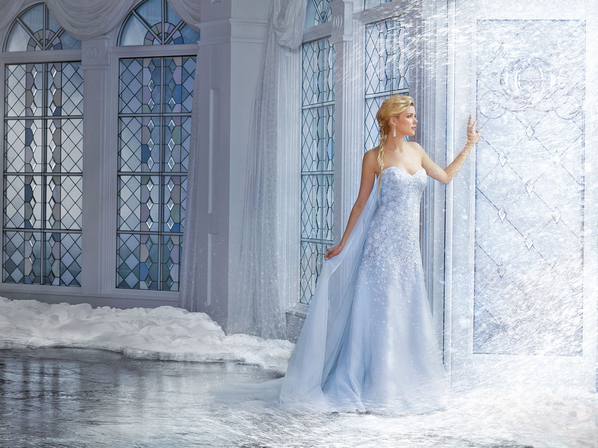 Look - Elsa Frozen wedding dress? Love it video