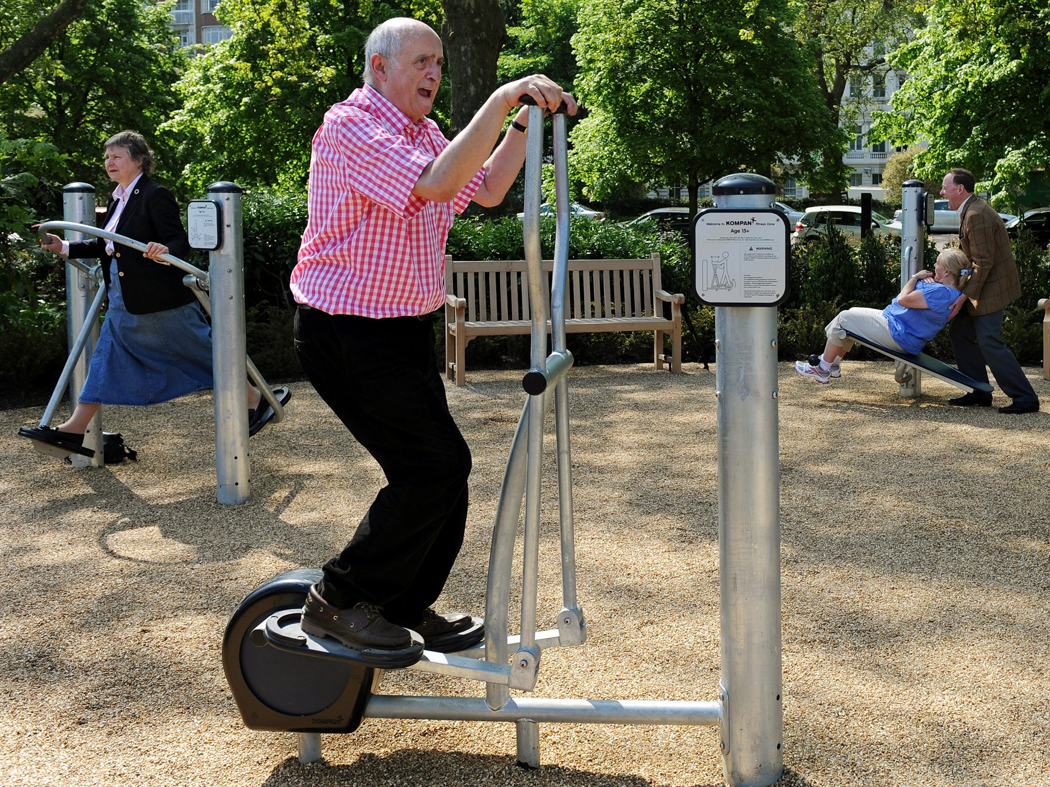 Two Hours Exercise Daily Elderly Exercise Getty