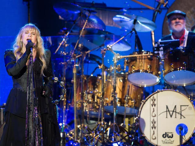 """""""And I saw my reflection in the snow-covered hills/ Till the landslide brought me down""""   Stevie Nicks was only 27 when she wrote one of the most poignant and astute meditations on how people change with time, and the fear of having to give up everything you've worked for. RO"""