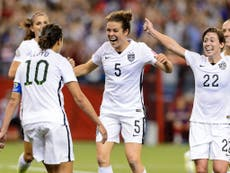 Carli Lloyd: Team USA soccer player resigns after splitting with teammates in anthem protest