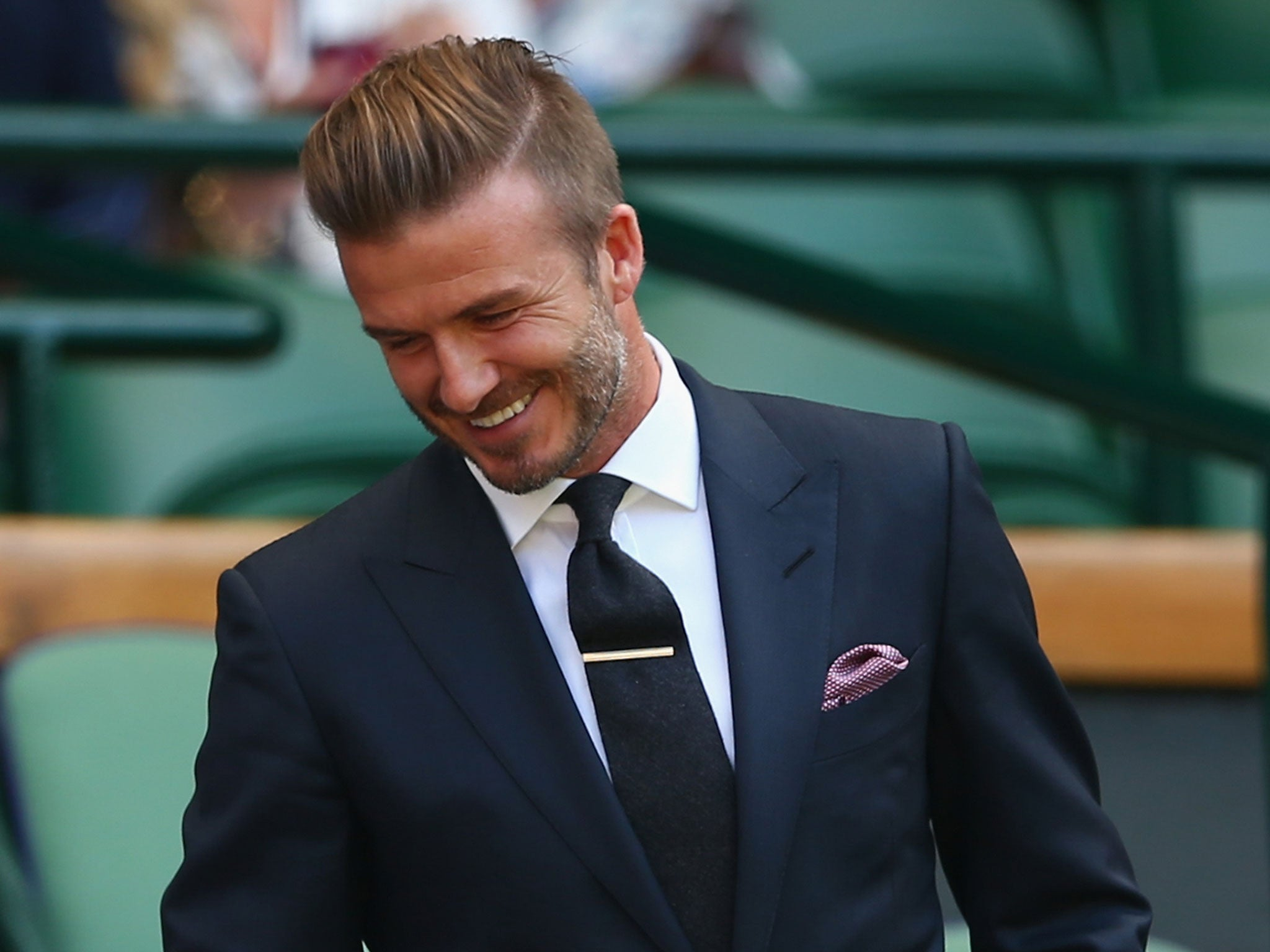 David Beckham video: Former England captain shows off his ... David Beckham