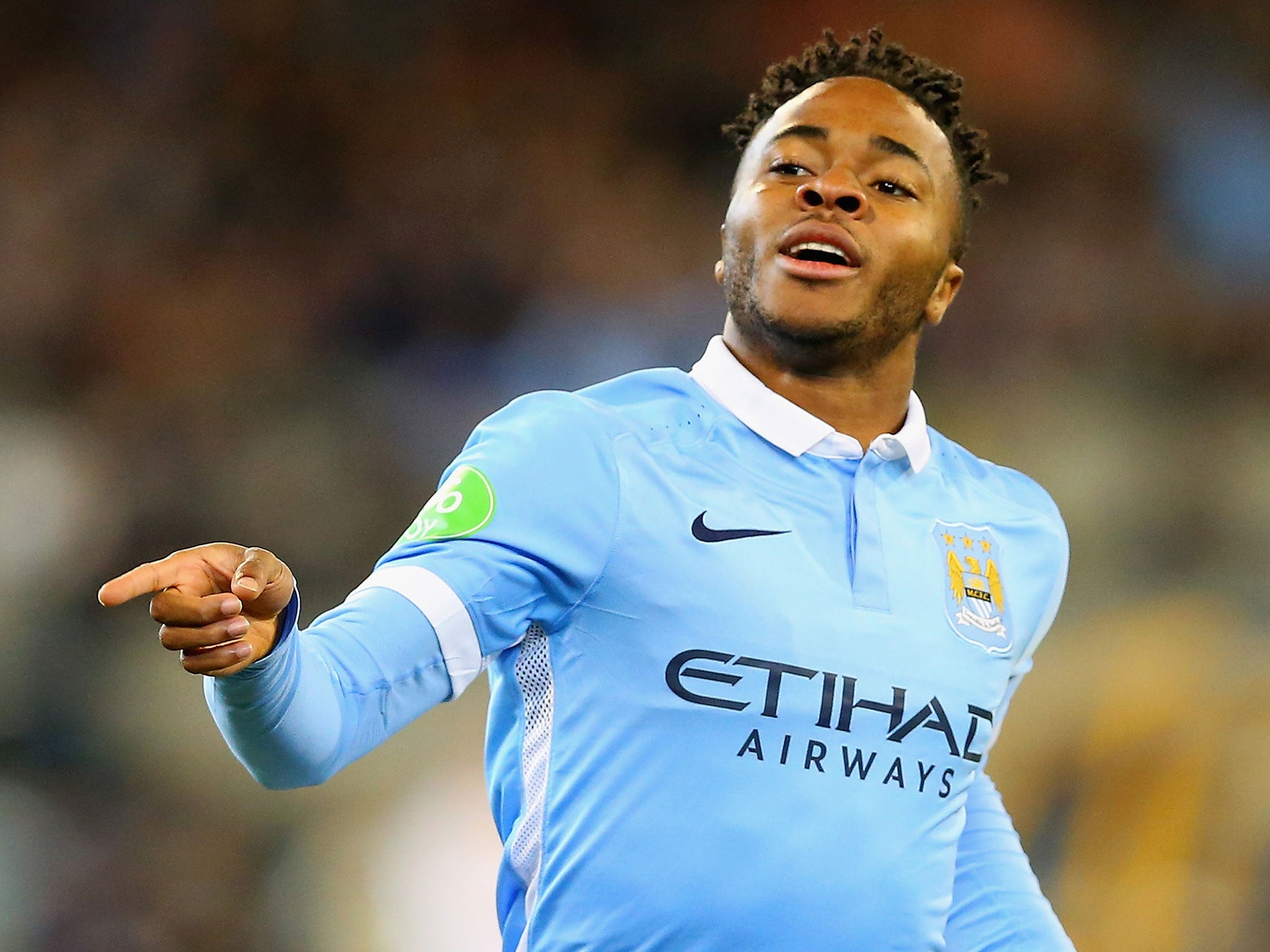 Manchester City Vs Roma 49m Raheem Sterling Goes From