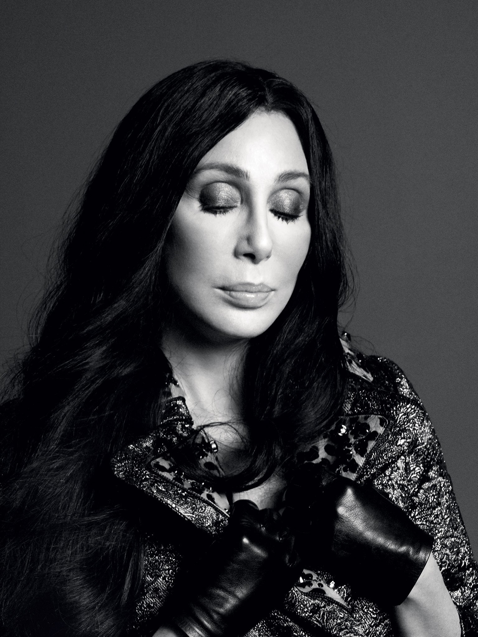 cher on the cover of love magazine queen of chiffon and