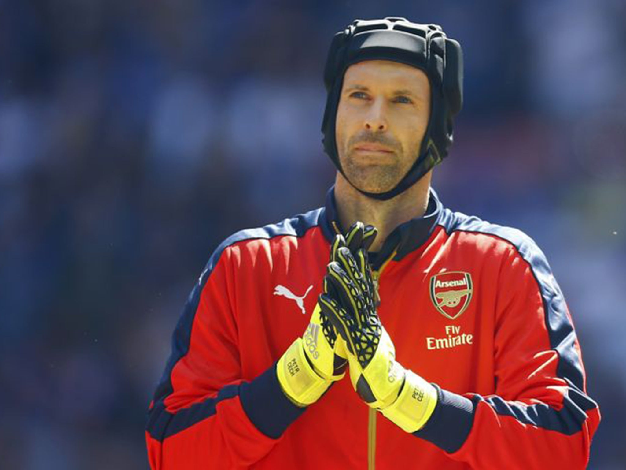 petr cech arsenal goalkeeper explains exactly why he has not broken