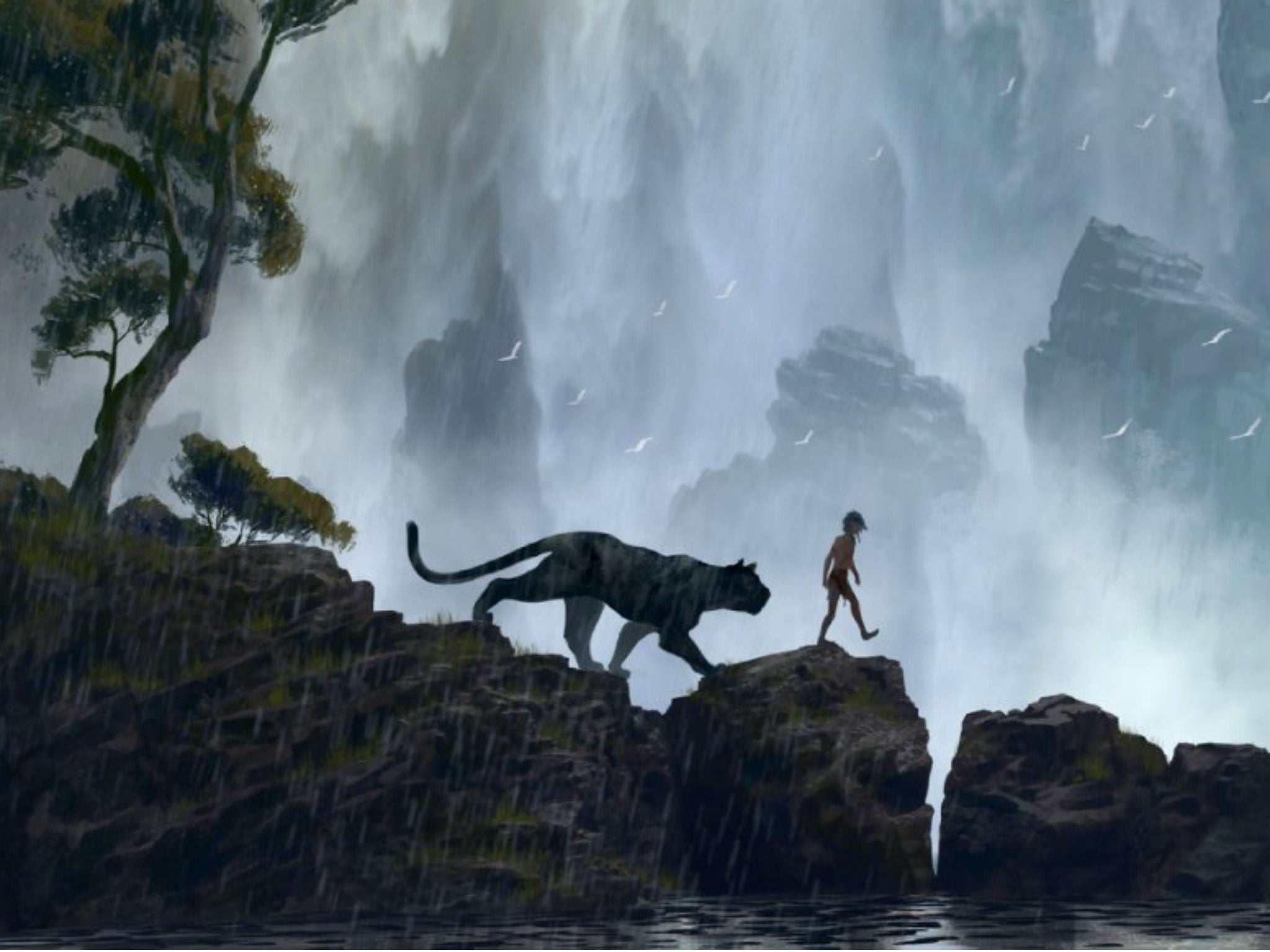Disney debuts moody The Jungle Book teaser ahead of first trailer ...: www.independent.co.uk/arts-entertainment/films/news/disney-debuts...