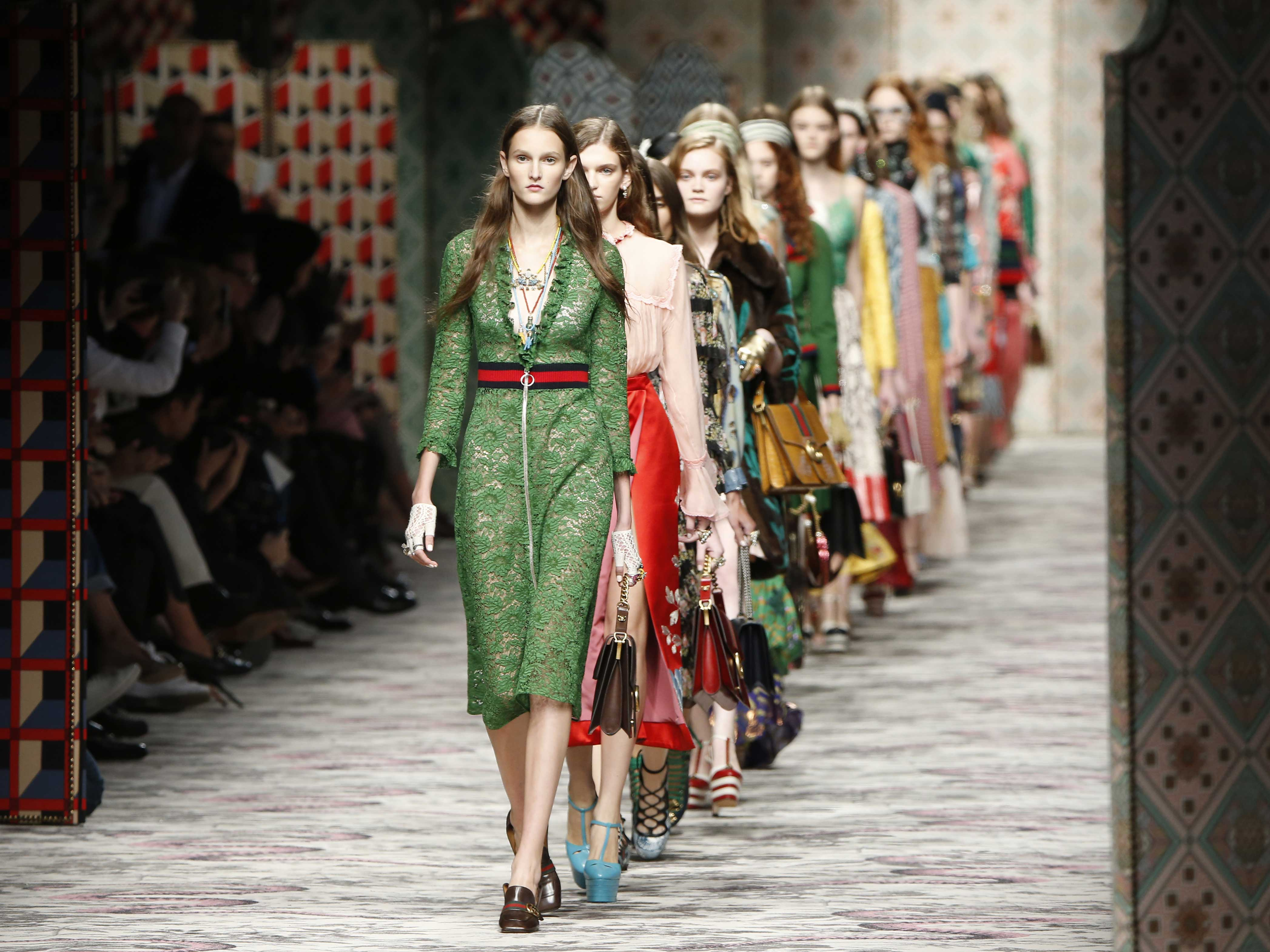 Milan Fashion Week Review Gucci Spring Summer 2015 News Lifestyle The Independent