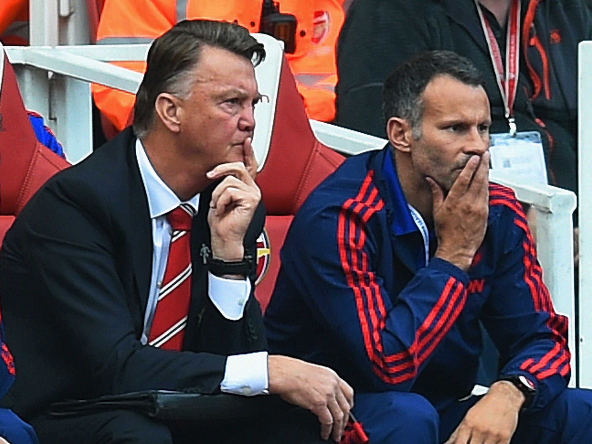 Manchester United performance against Arsenal was 'amazing', says Louis van Gaal