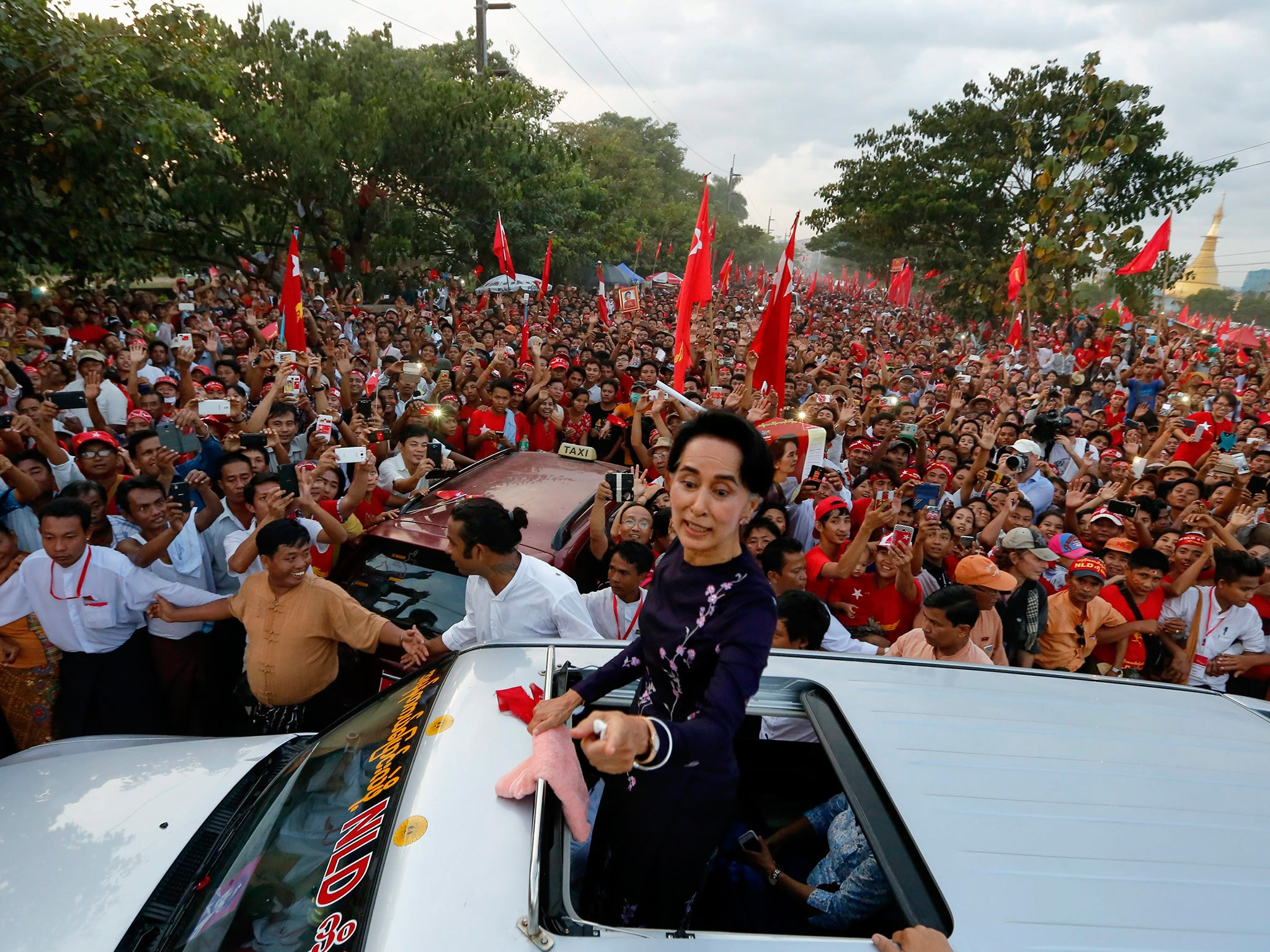 "democracy in burma essay Daw suu's promotion of democracy against military rule began in 1988 when  letters from burma, 1997 - aung san suu kyi,  to read the essay ""peace as an."