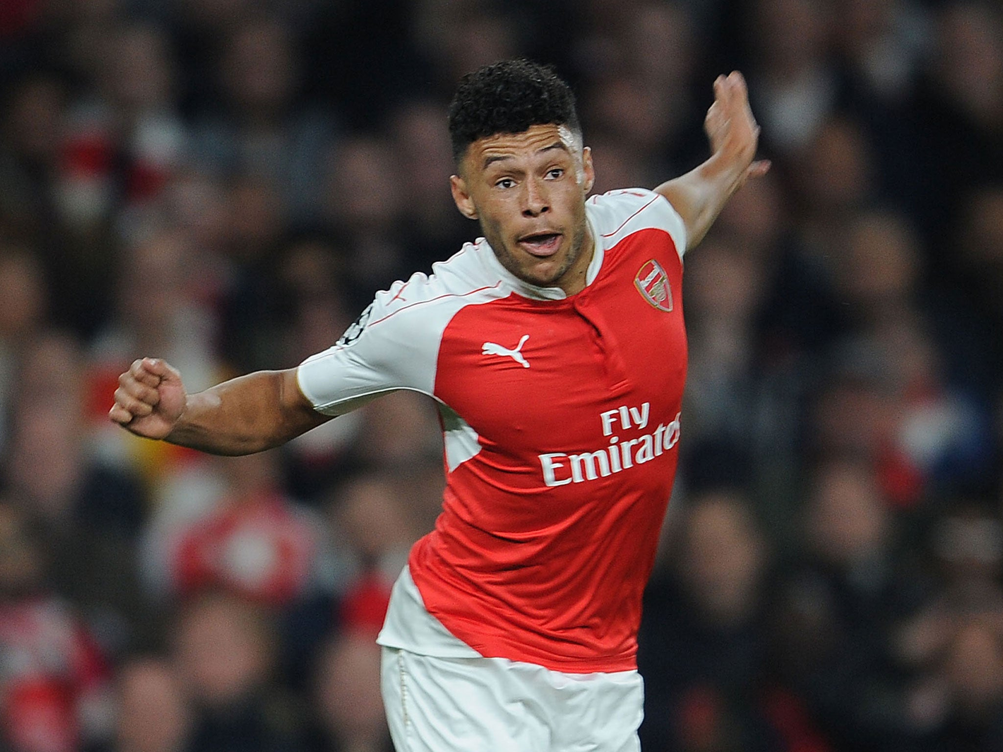 Arsenal name squad of 18 Alex Oxlade-Chamberlains despite England star being ruled out injured for Tottenham draw