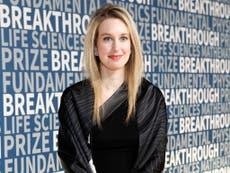 Forbes estimate Elizabeth Holmes' worth drops from $4.5 billion to $0