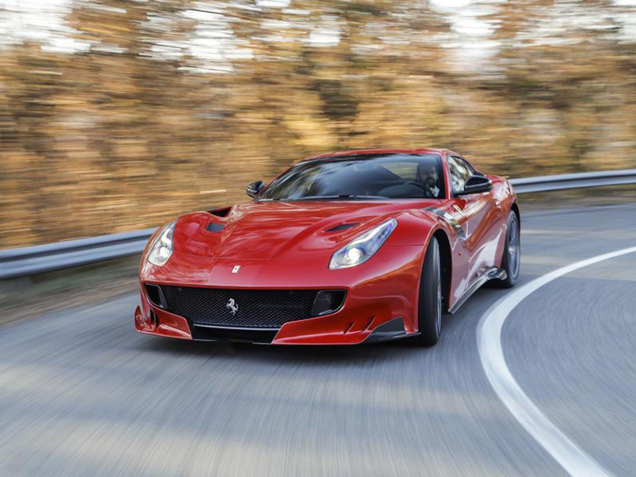 ferrari f12 tdf car review for when an f12 s 730bhp just