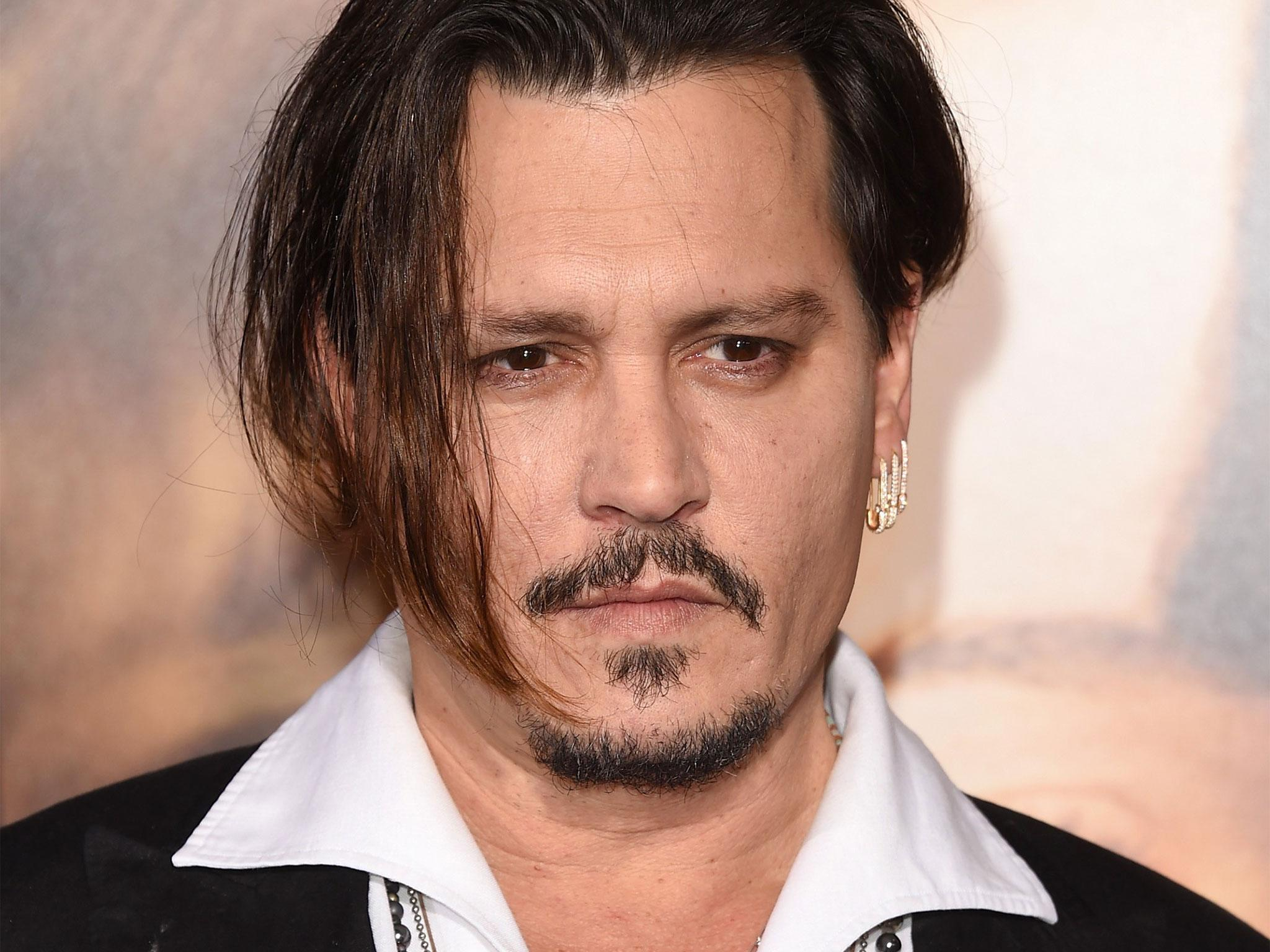 Johnny Depp calls Republican frontrunner Donald Trump a ... Johnny Depp