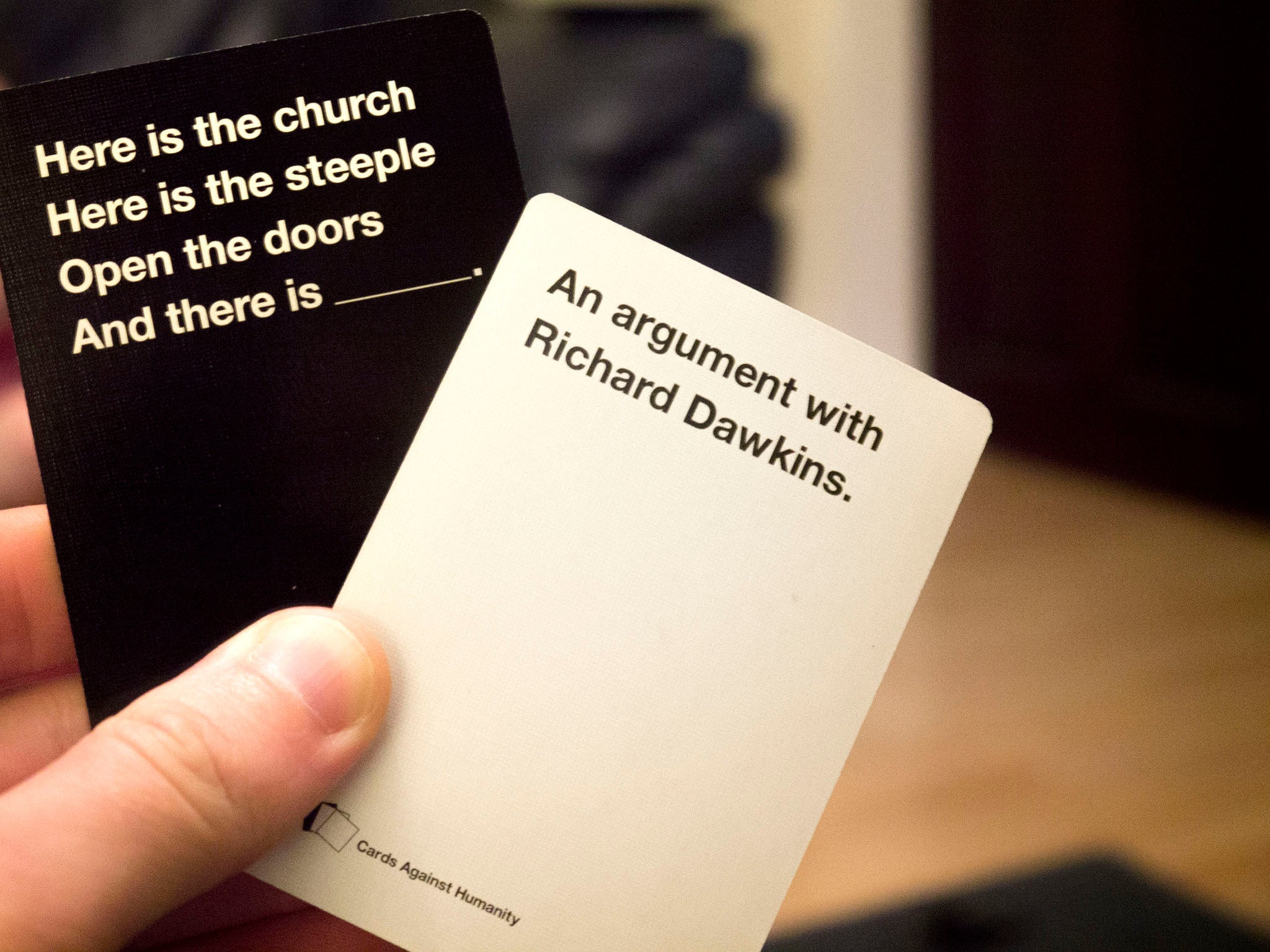 how to use cards against humanity design pack