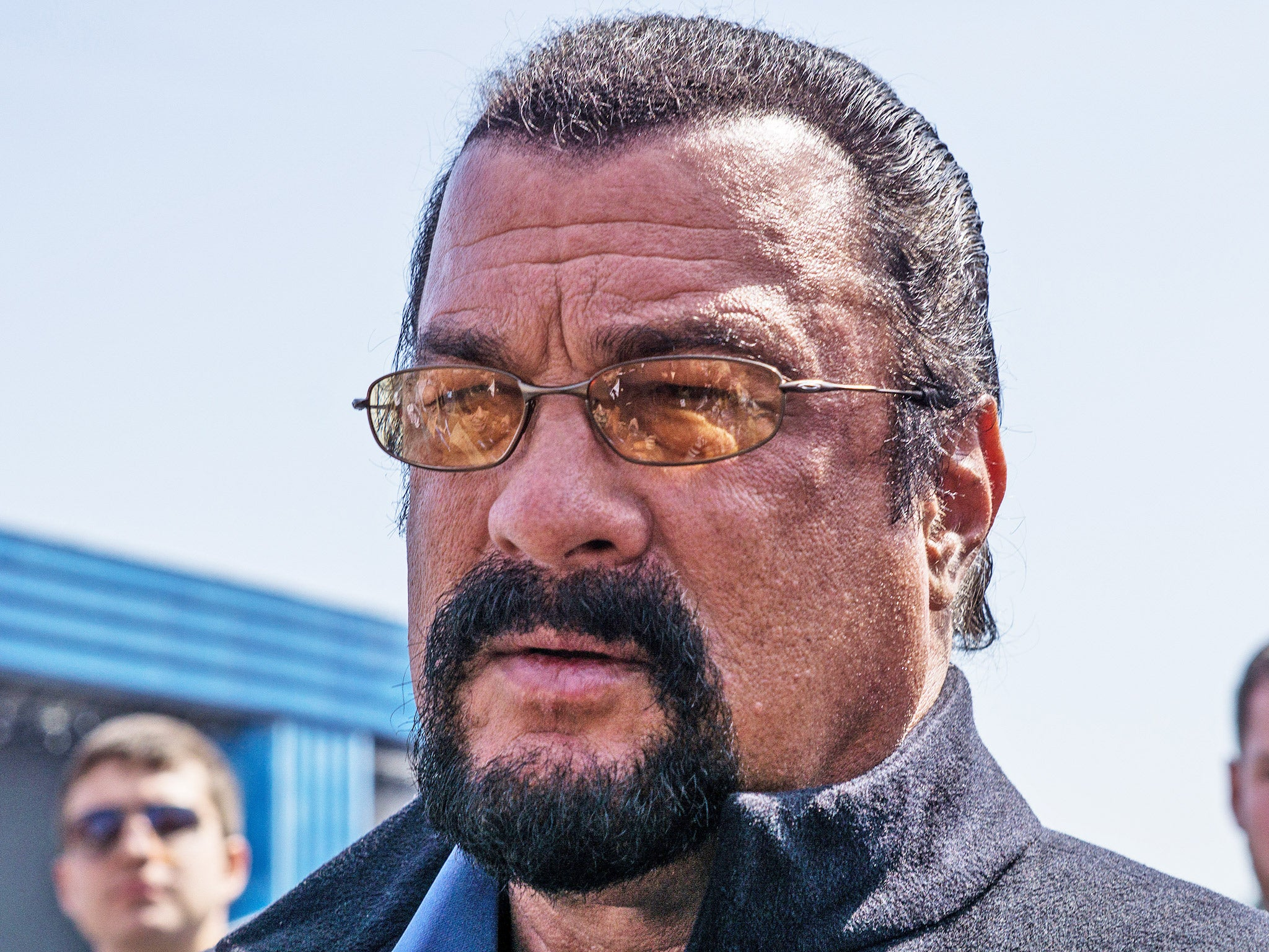 Steven Seagal asked to...