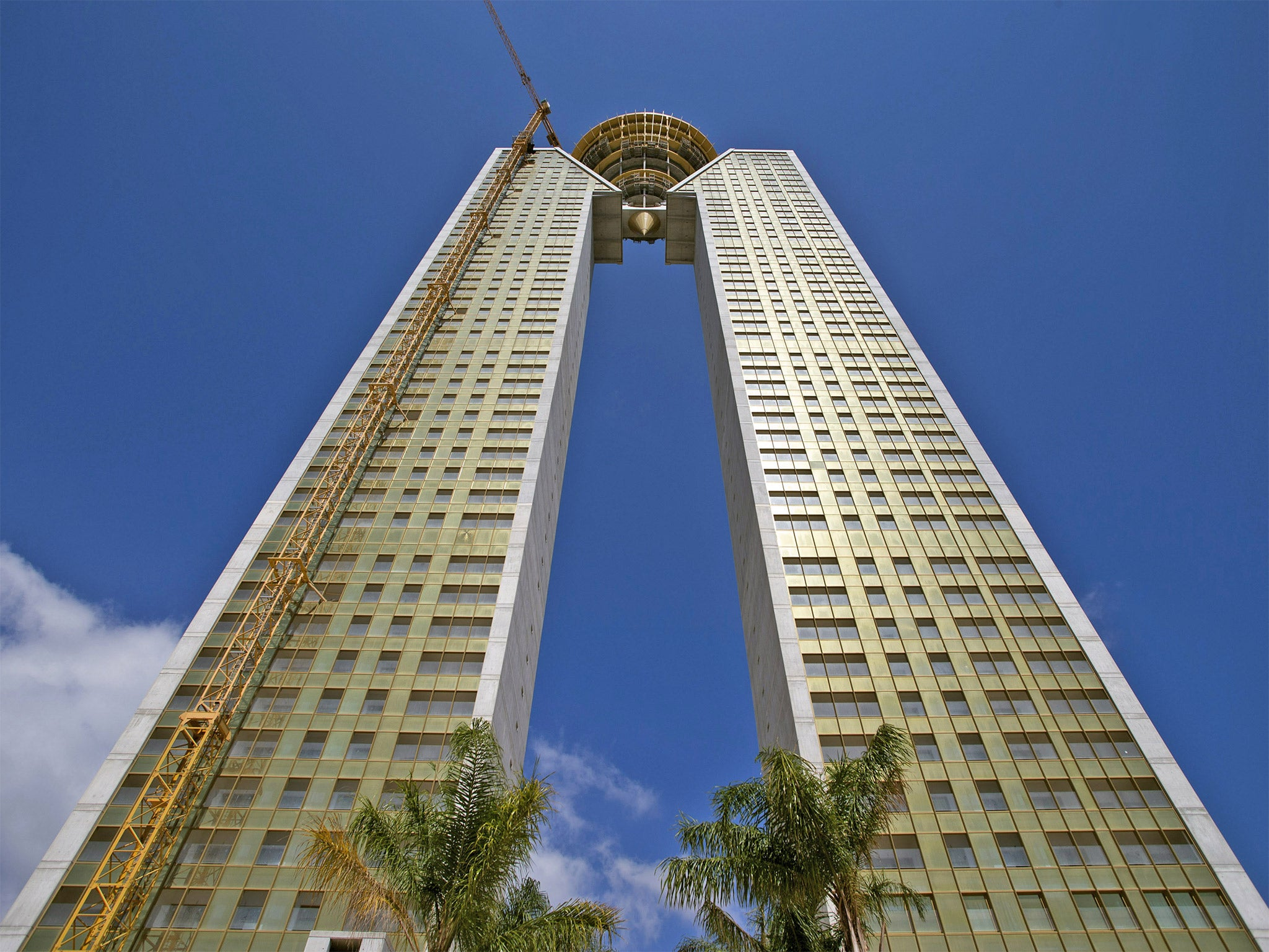 Benidorm S Towering Monument To Spain S Debt Disaster