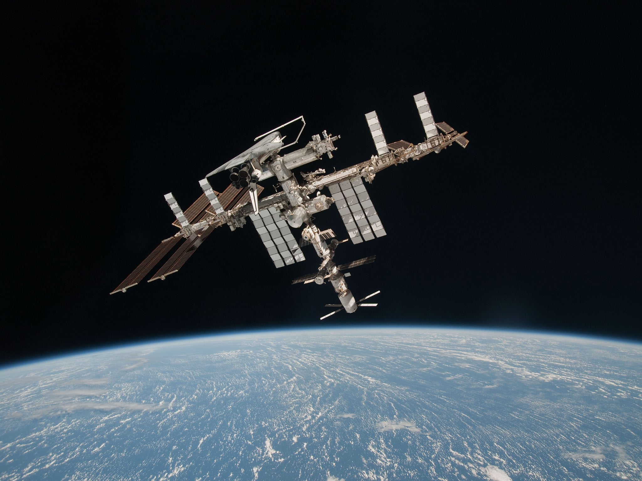 an overview of the internet space station Astronauts who see this firsthand often report intense awe called the overview  psychologists study intense awe astronauts feel  space station may appear.