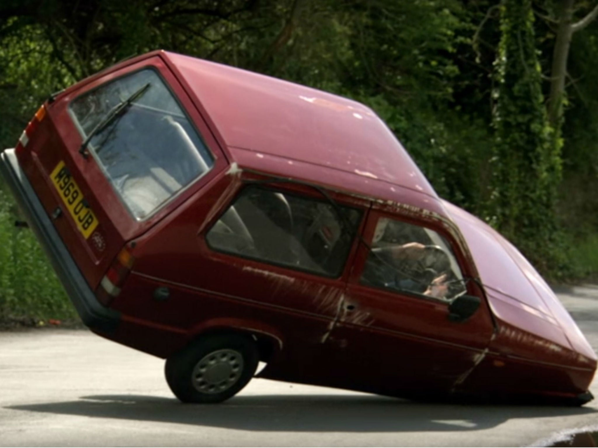 Top Gear Jeremy Clarkson Reveals He Faked Famous Reliant