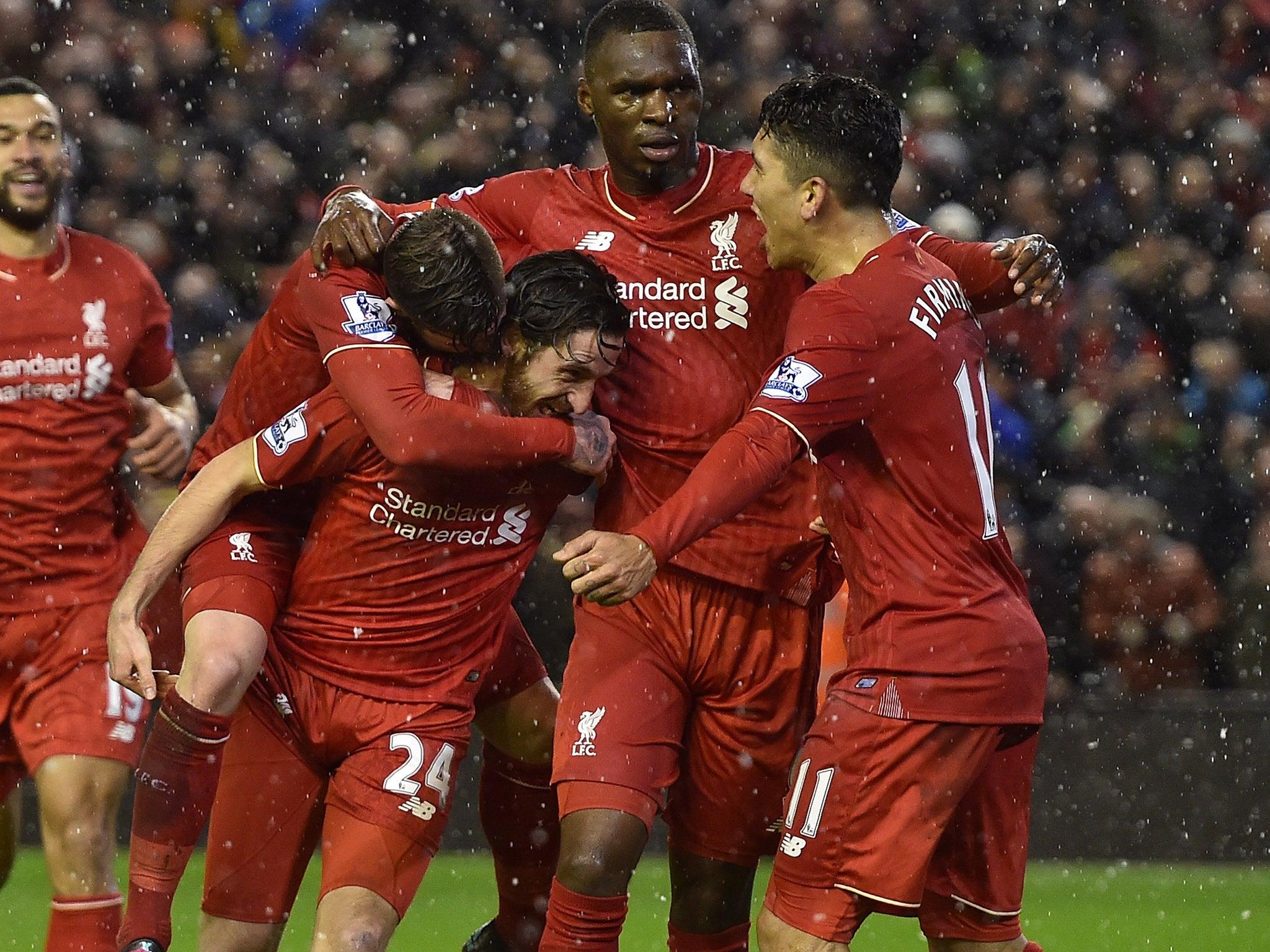Liverpool vs Arsenal match report: Dramatic Joe Allen equaliser denies Gunners in thriller