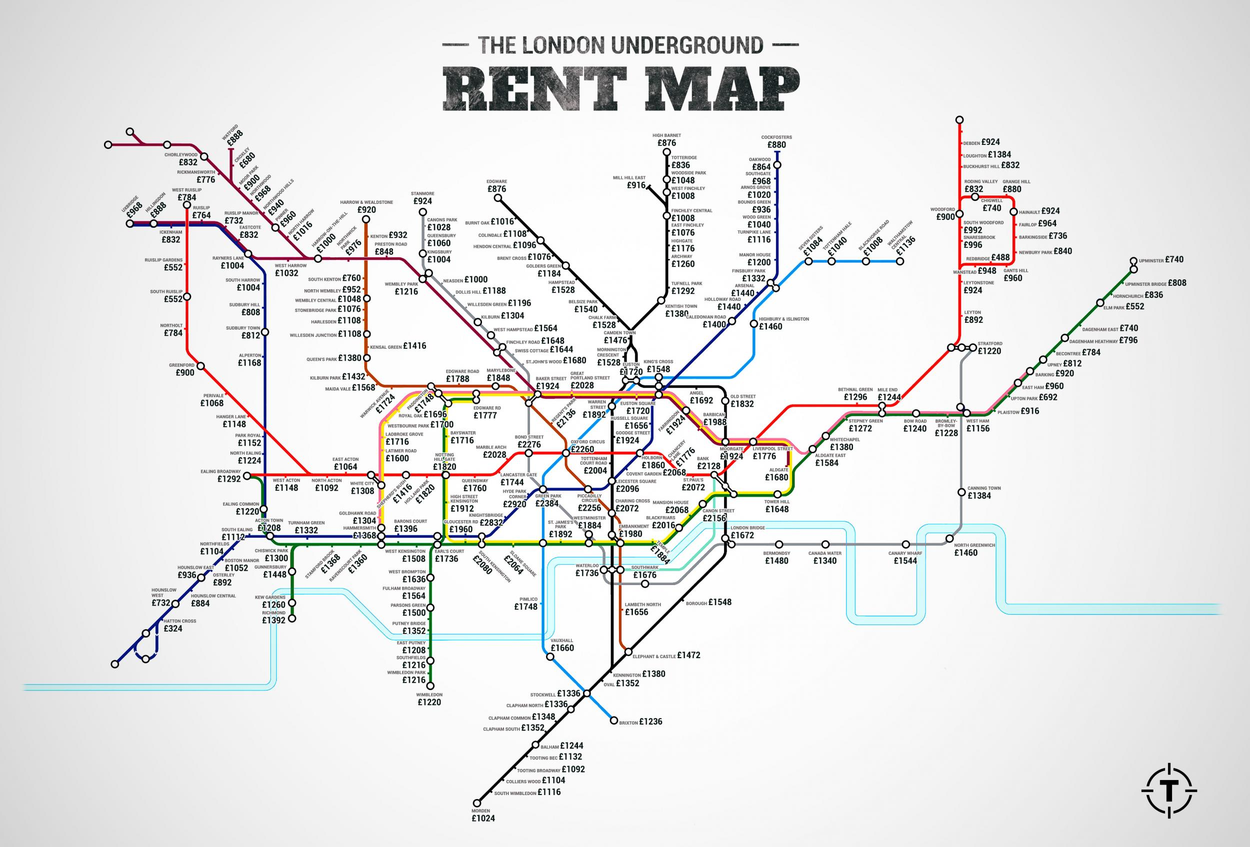 these german rent maps shows just how overpriced london is