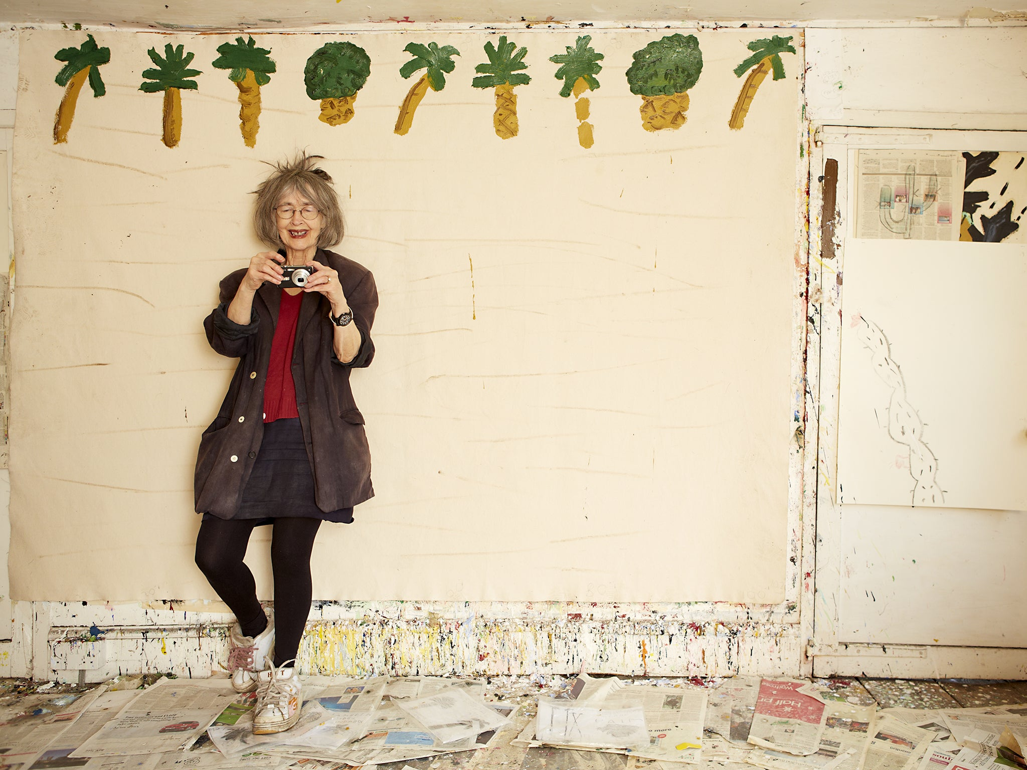 rose wylie the octogenarian painter whose overdue success