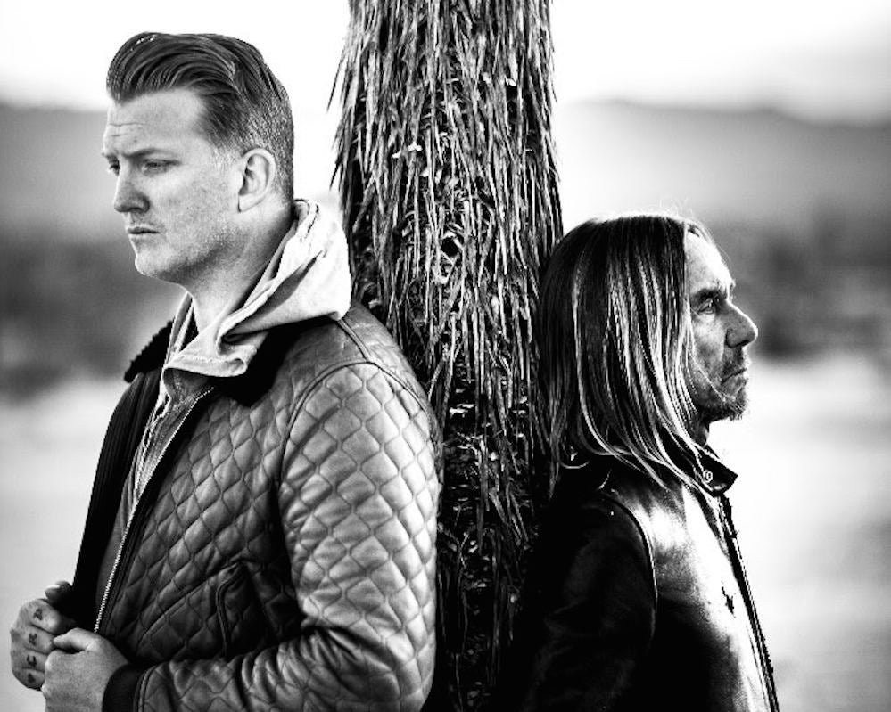 Listen to first track from Josh Homme and Iggy Pop ...
