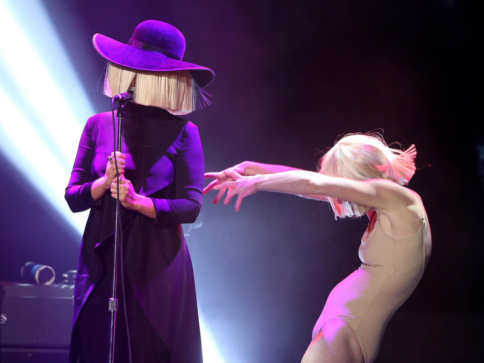 sia this is acting dark brilliance amid some  arre