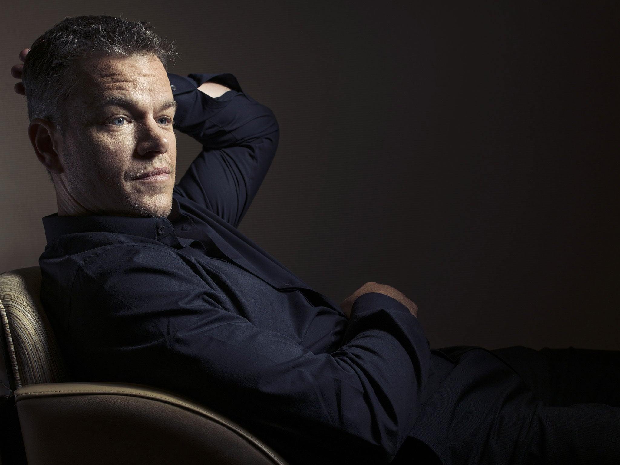 Matt Damon reveals why...