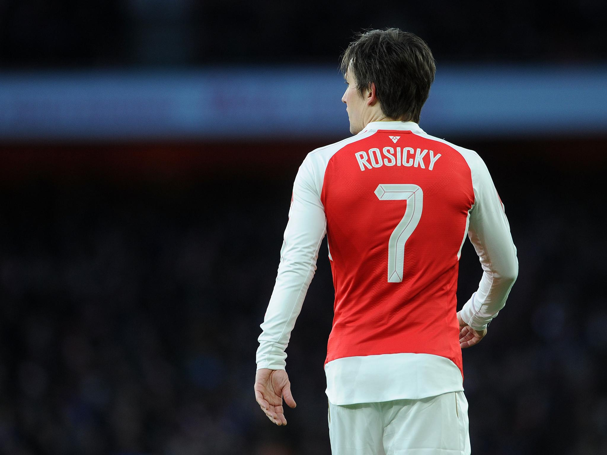 Arsenal's most injury prone players: Tomas Rosicky joined on the treatment table by Abou Diaby and Theo Walcott