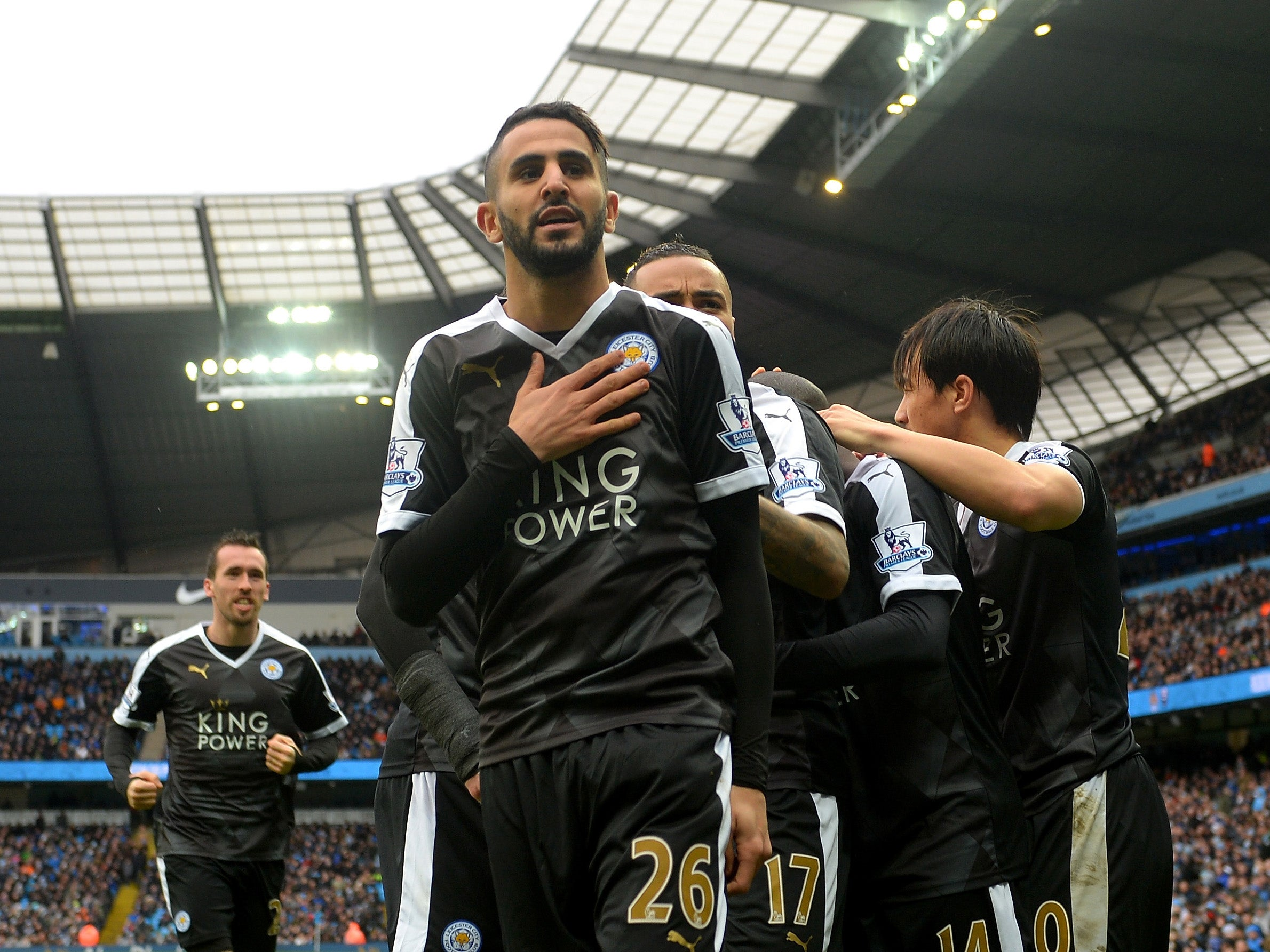 Leicester City run away at top; Liverpool fans make a stand; Tottenham creep into title race; Louis van Gaal fights back
