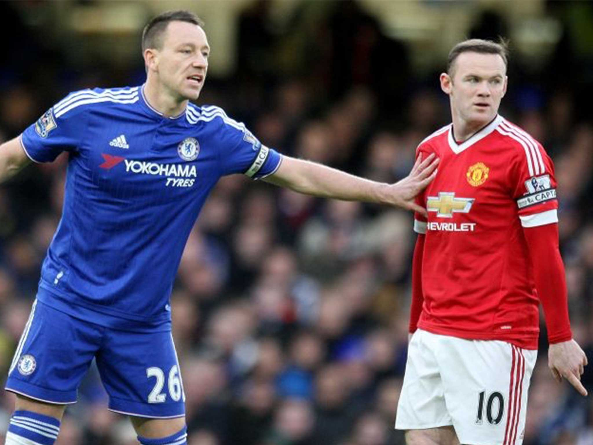 Chelsea vs Manchester United: Was this the final clash between those great warriors John Terry and Wayne Rooney?