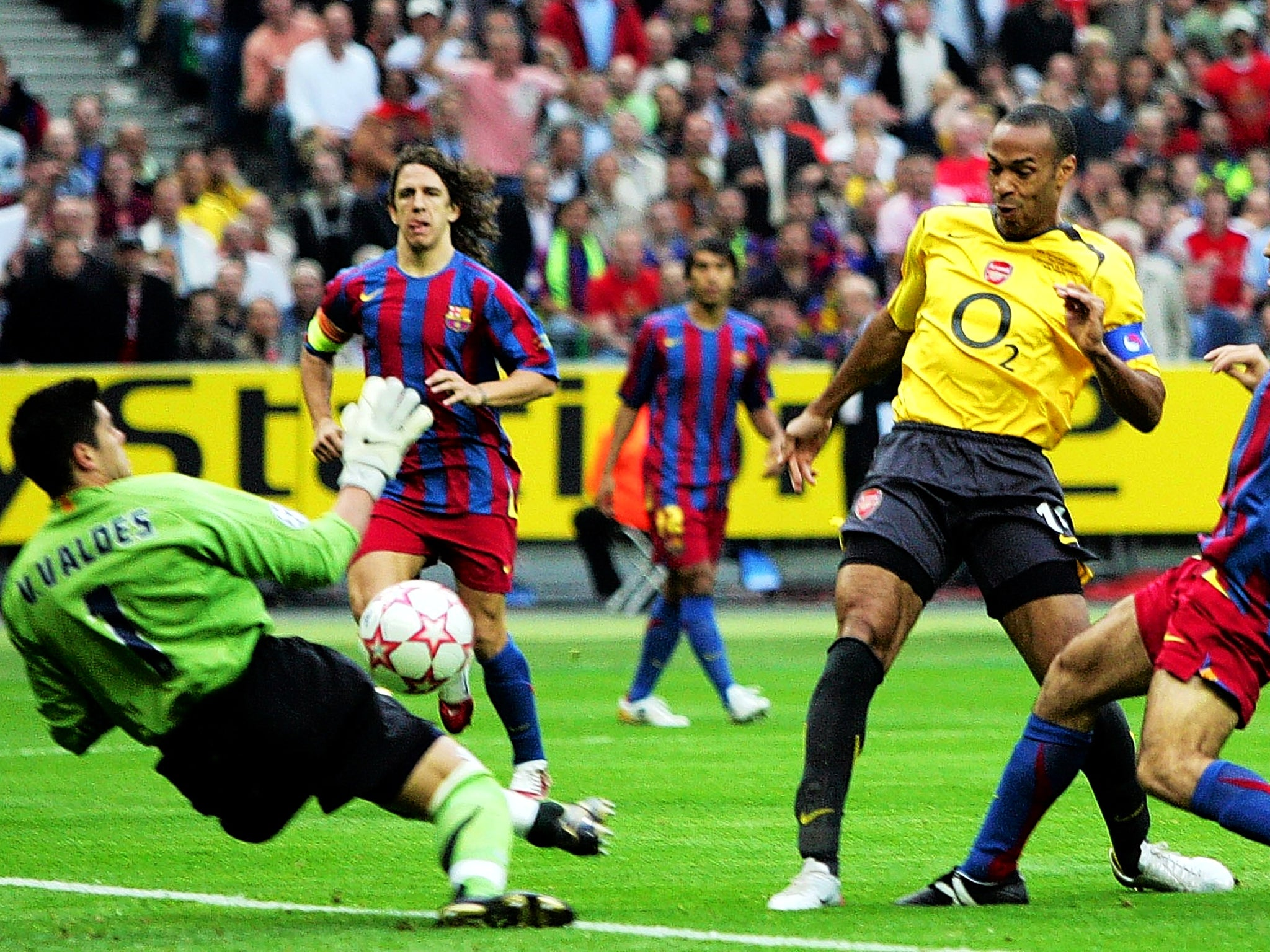 Since the 2006 Champions League final Arsenal and ...