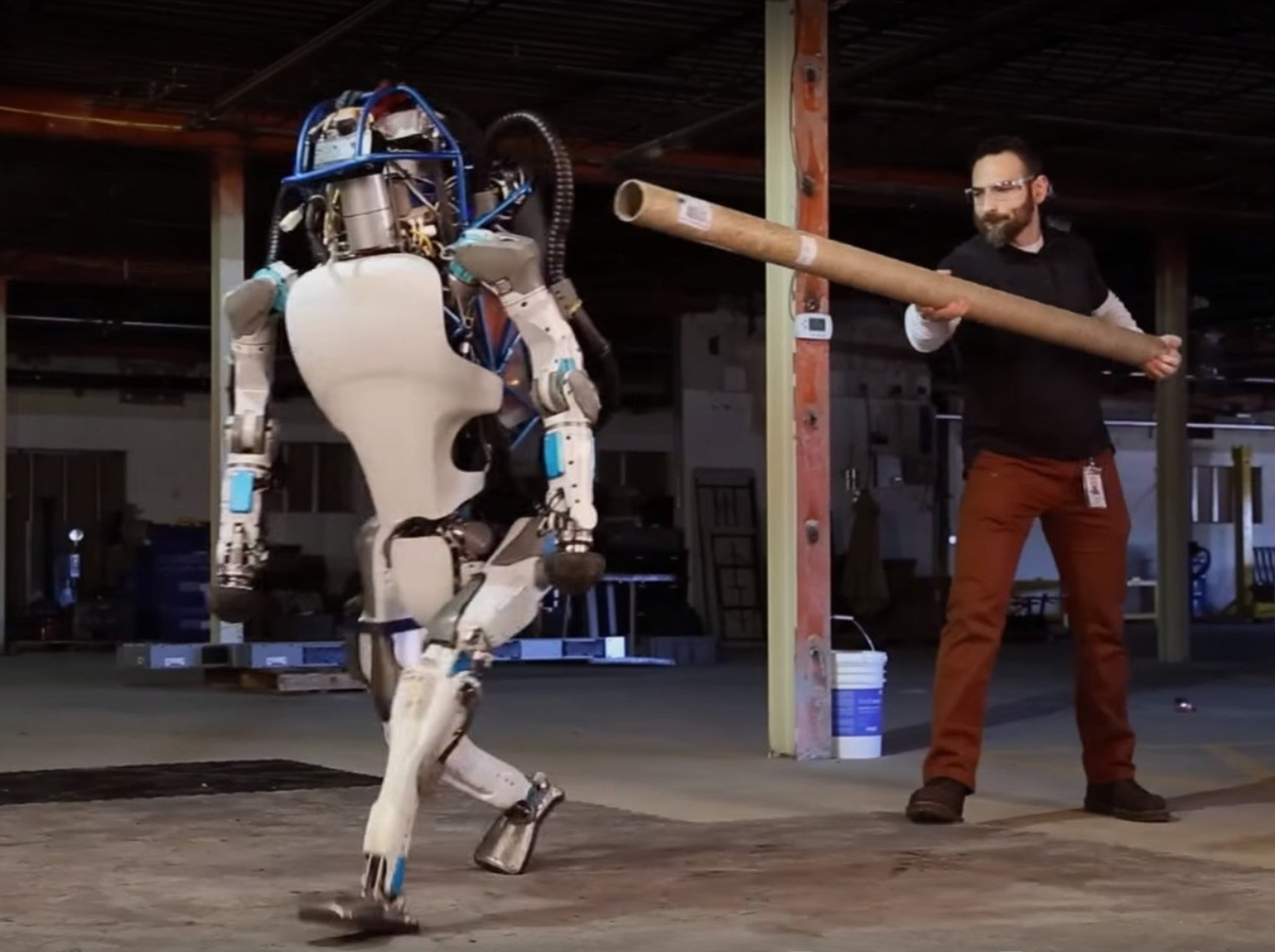 Boston Dynamics Atlas Google owned Robot Firms Shows Off