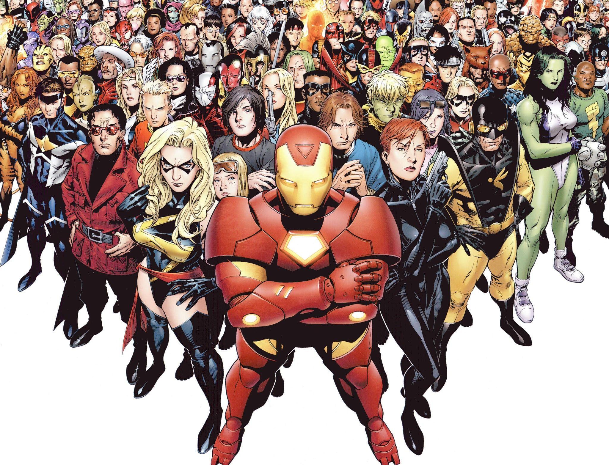 Marvel Super Heroes 60 Superhéroes: Every Superhero Film Being Released Between 2016 And 2020