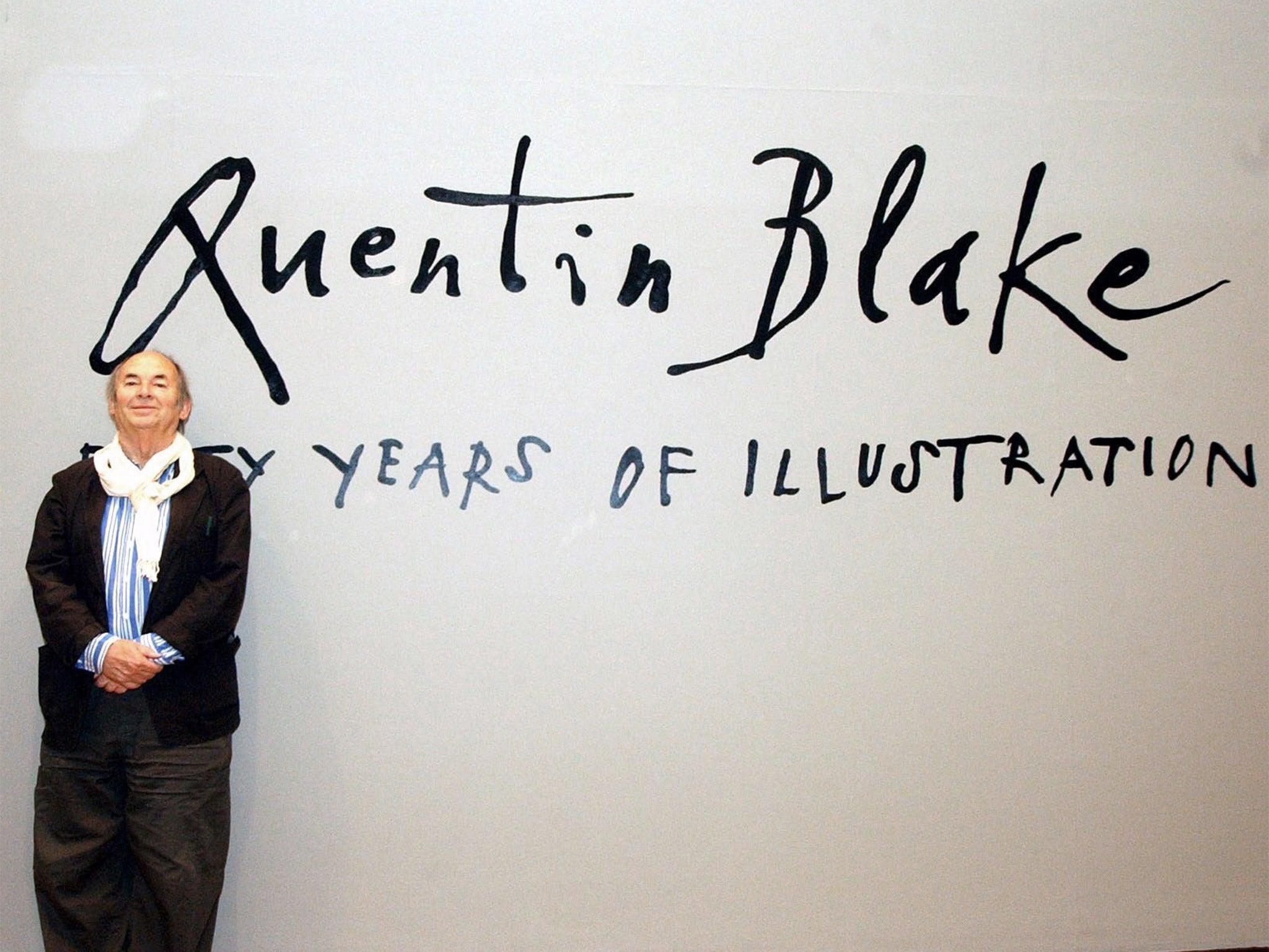 Quentin Blake Roald Dahl Illustrators Unique Handwriting